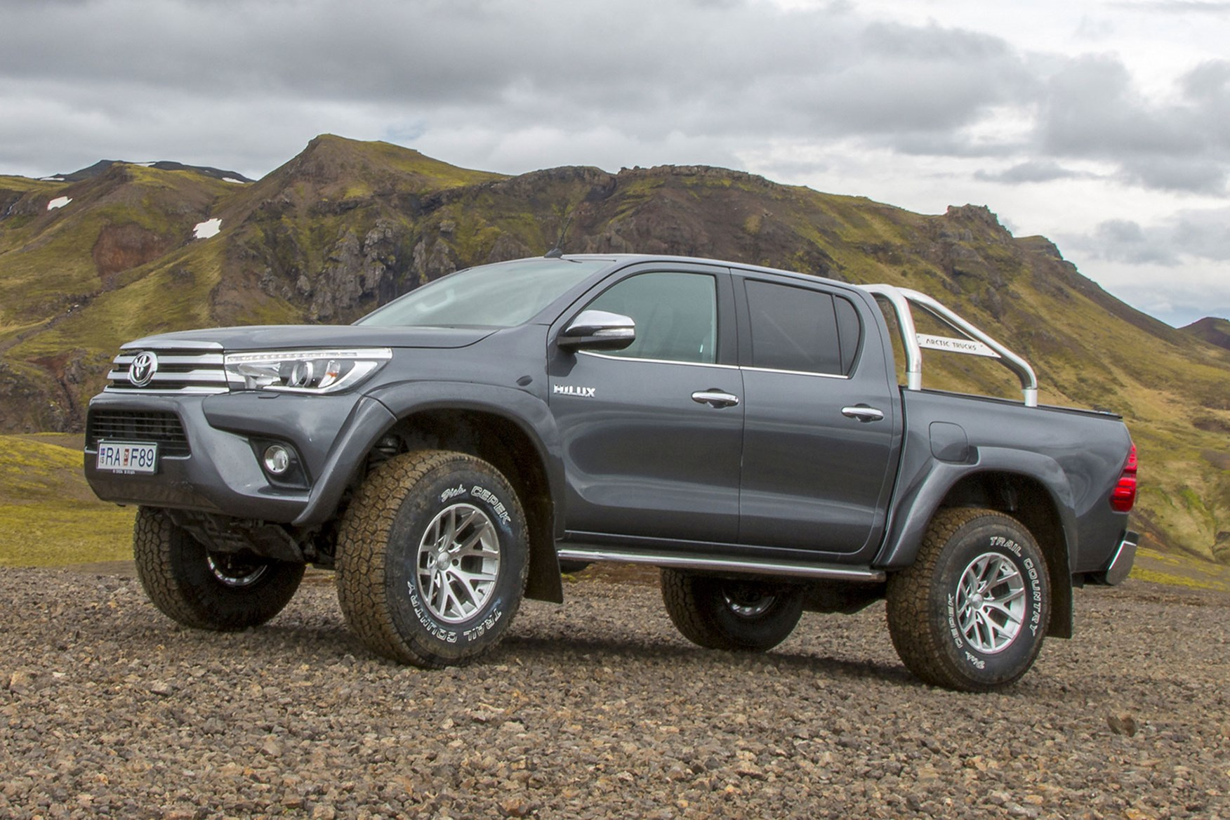 toyota launches hilux at35 at cv show 2018 new arctic. Black Bedroom Furniture Sets. Home Design Ideas