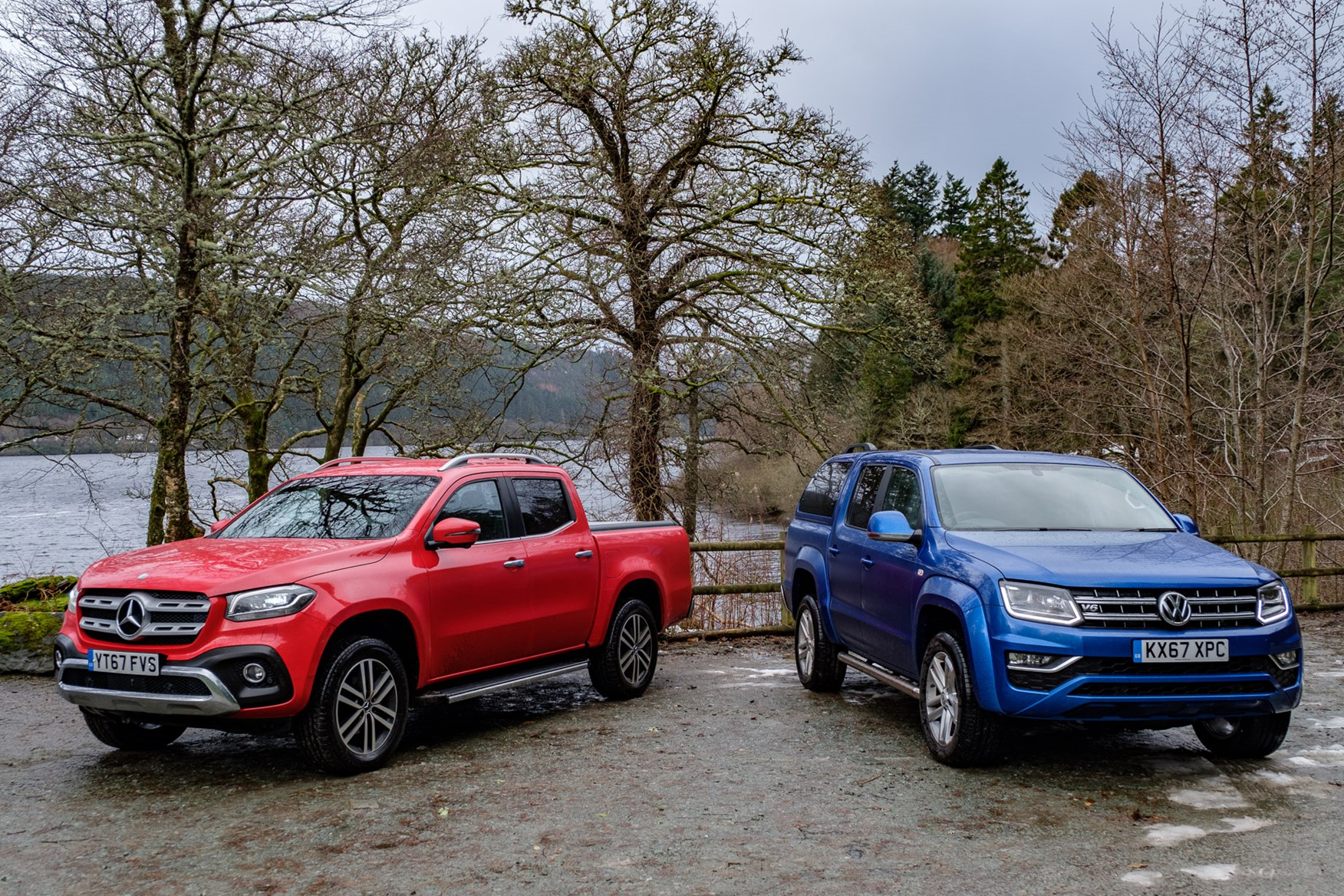 bbfe0f4729772b Mercedes X-Class versus VW Amarok twin test review – battle of the ...
