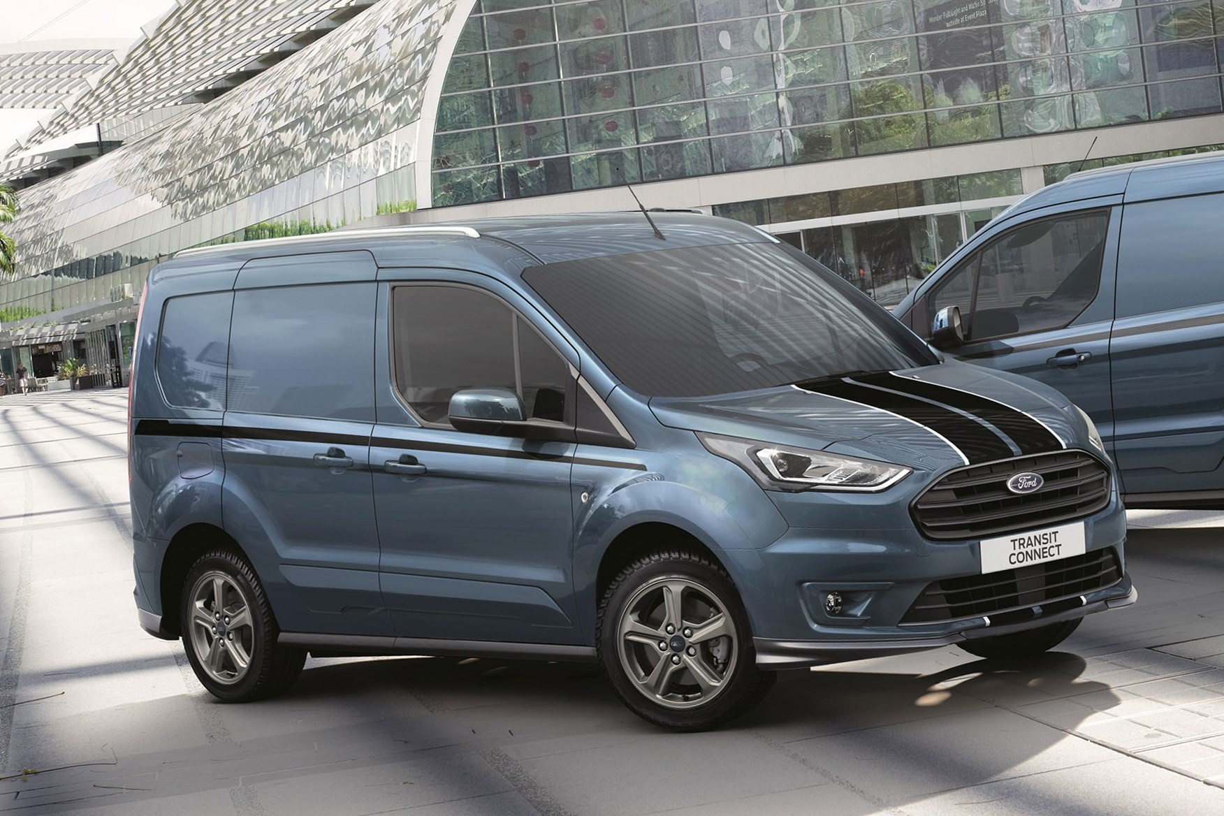Ford transit connect sport front view