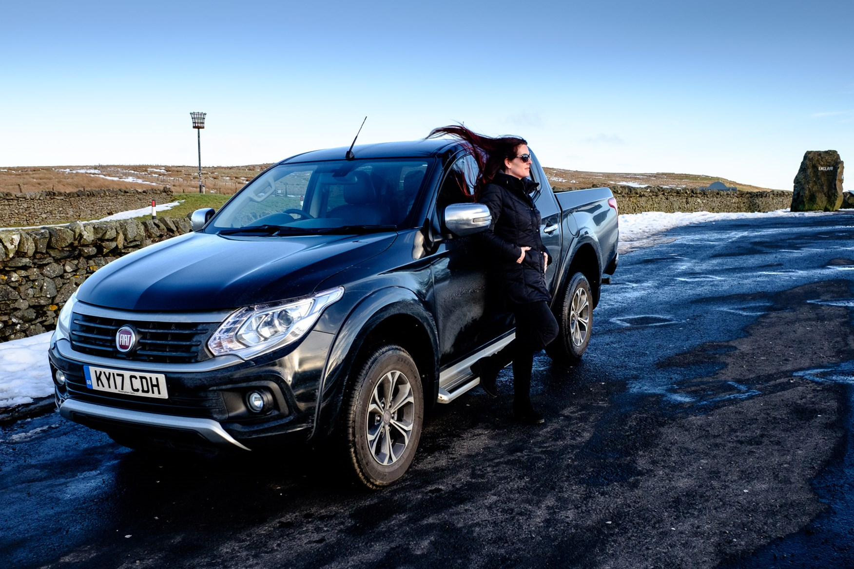 Fiat Fullback Lx Long Term Test Review Visits The Rugby Pickup Truck 2017 At Scottish Border