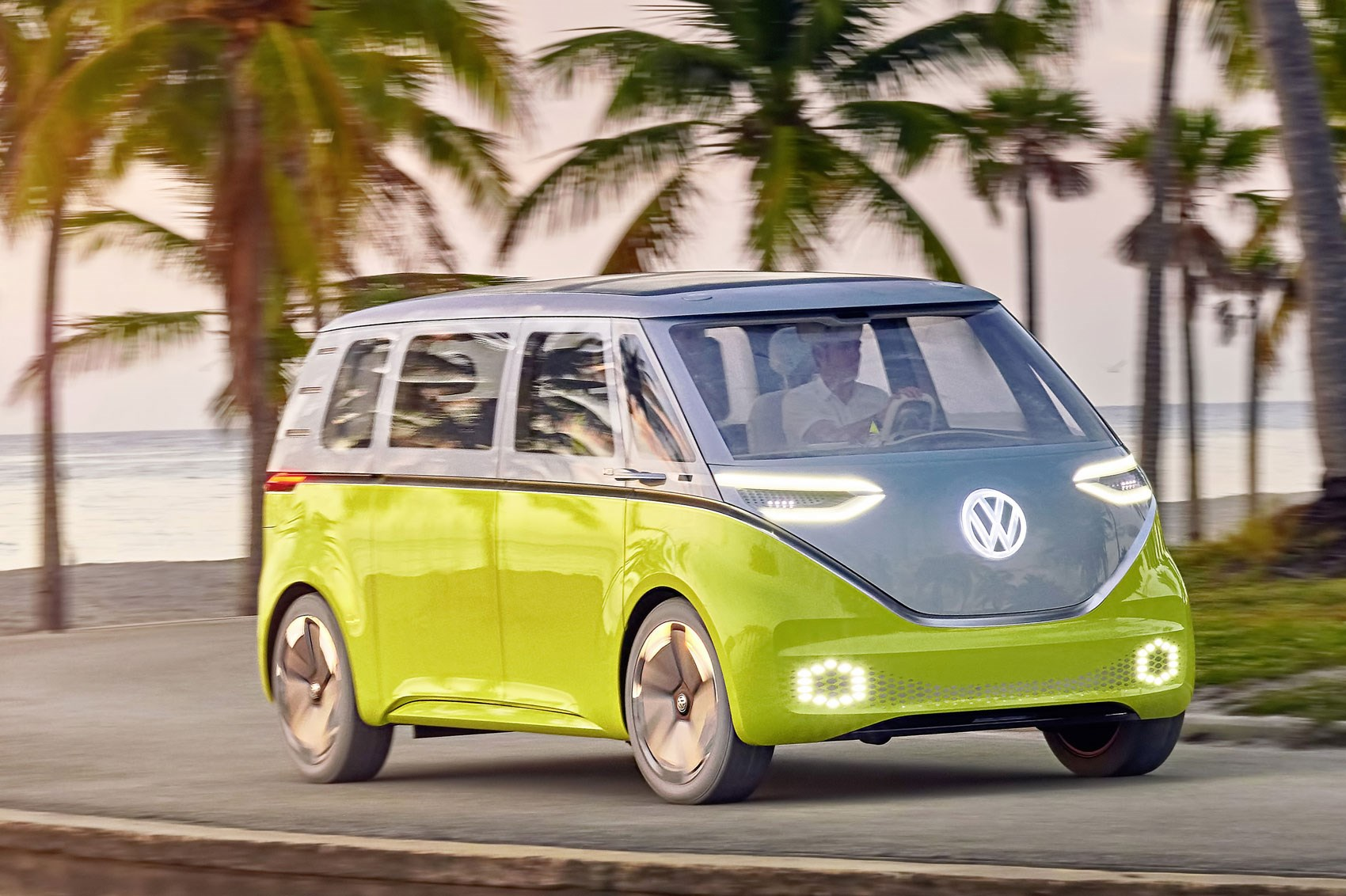 Official All Electric Vw Buzz Cargo Van Confirmed For