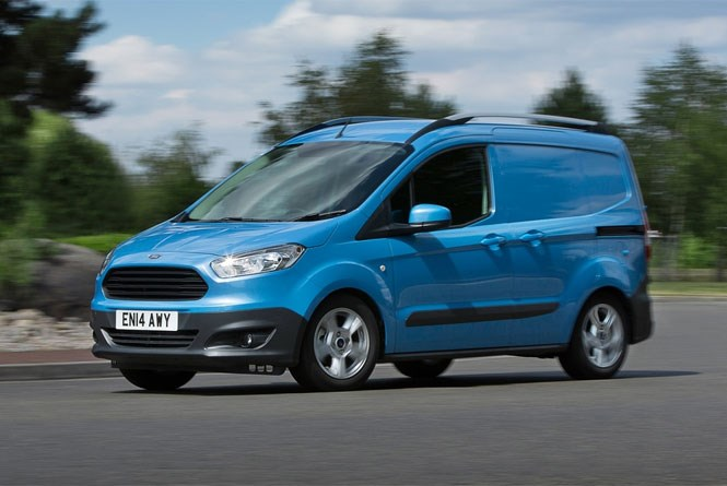 the ford fiesta van is dead  long live the transit courier