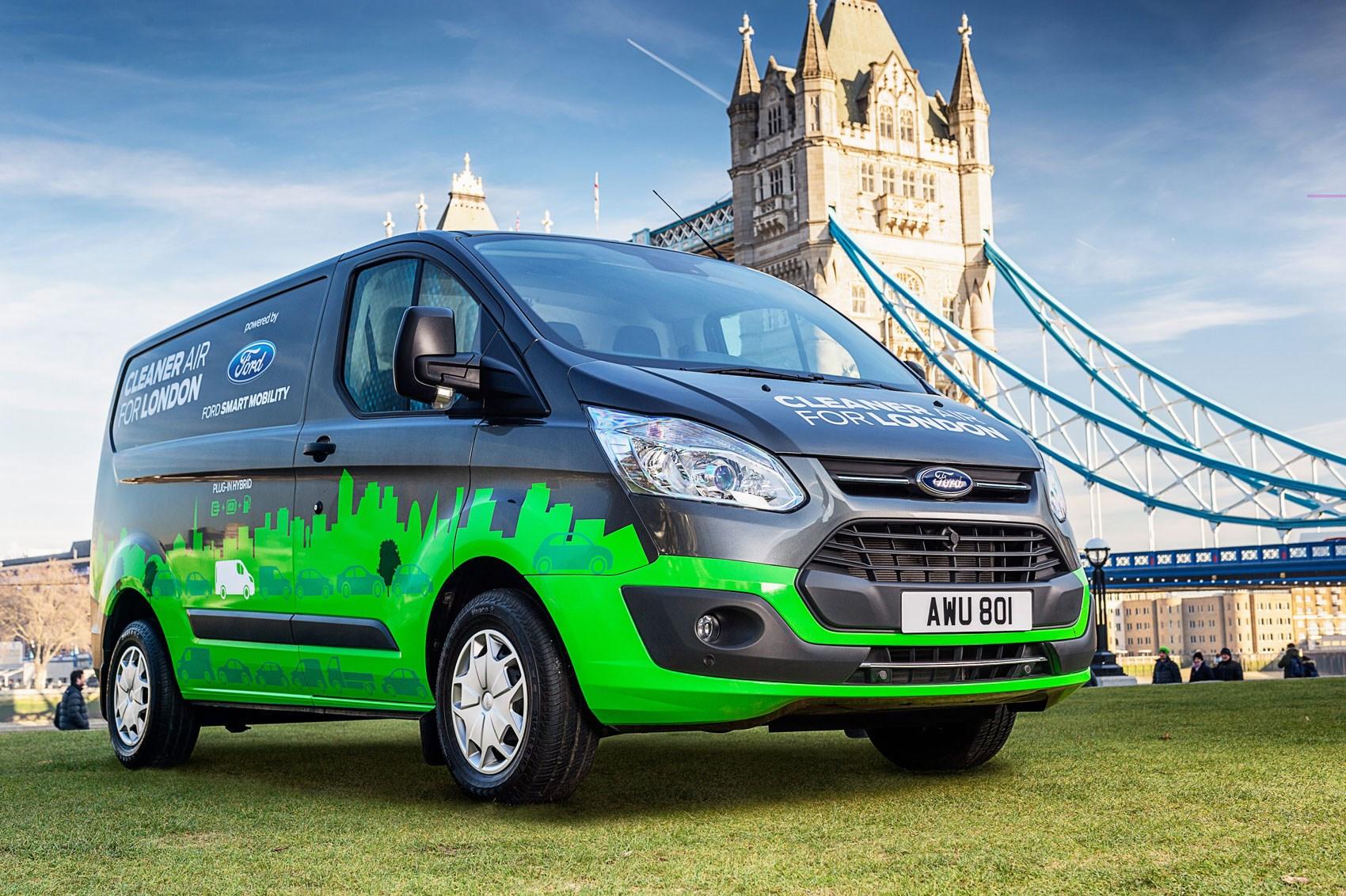 Ford Transit Custom Phev 2019 Production Version Driving