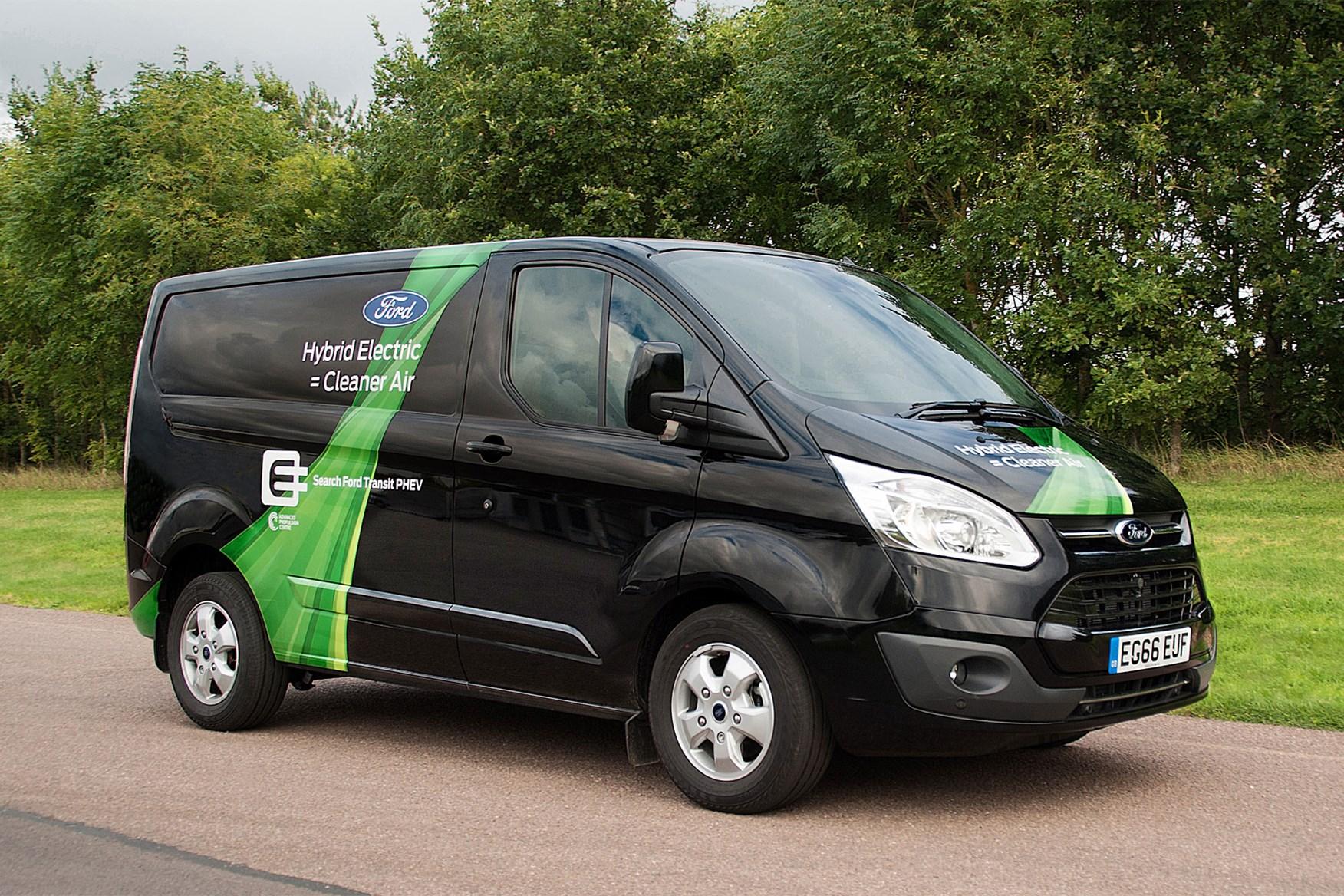 963bd48e28 Ford Transit Custom plug-in hybrid electric van - latest news ...