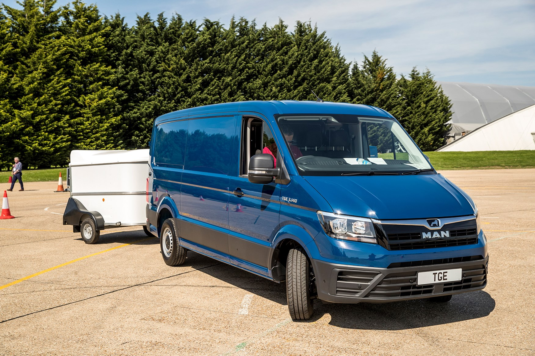 The best vans for towing | Parkers