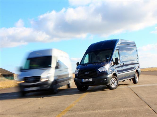 Mercedes Benz Sprinter V Ford Transit Clash Of The Titans