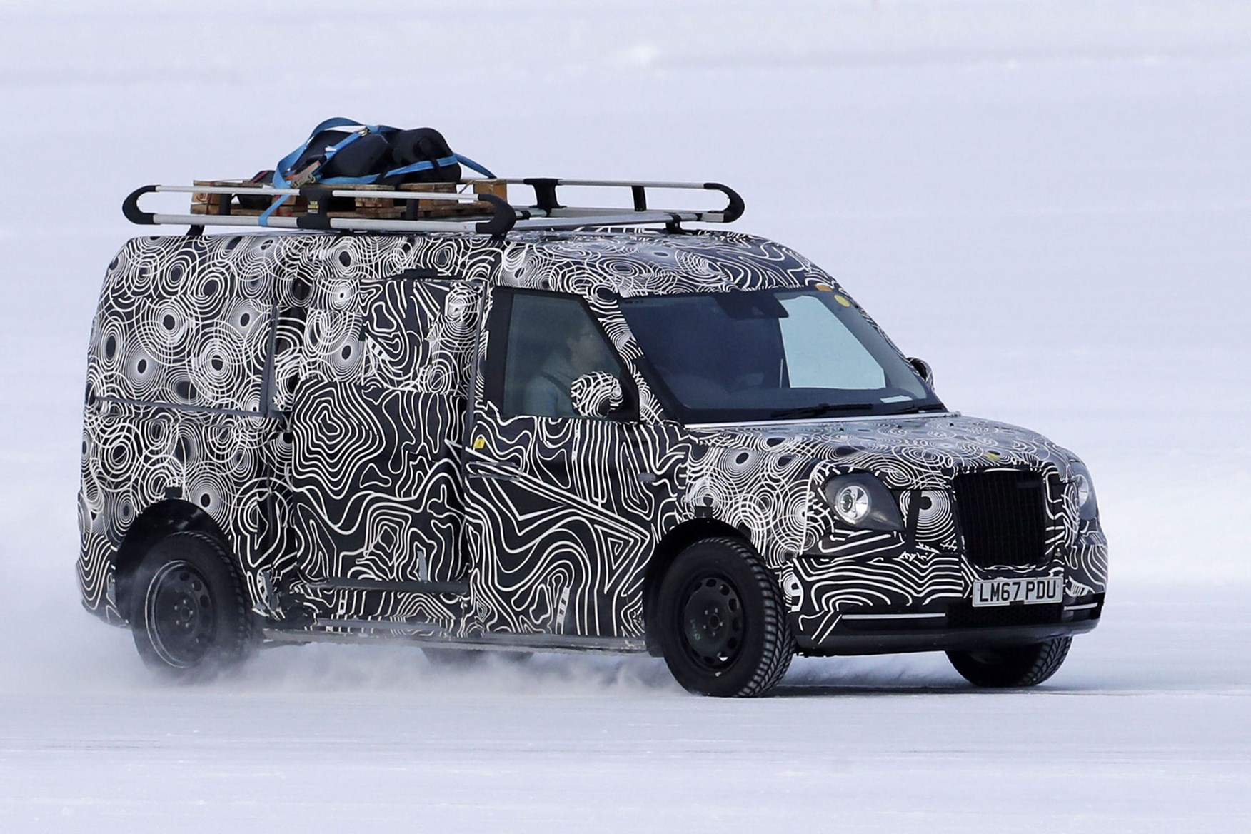 Levc Taxi Based Plug In Hybrid Electric Van Spy Photo Now Cancelled
