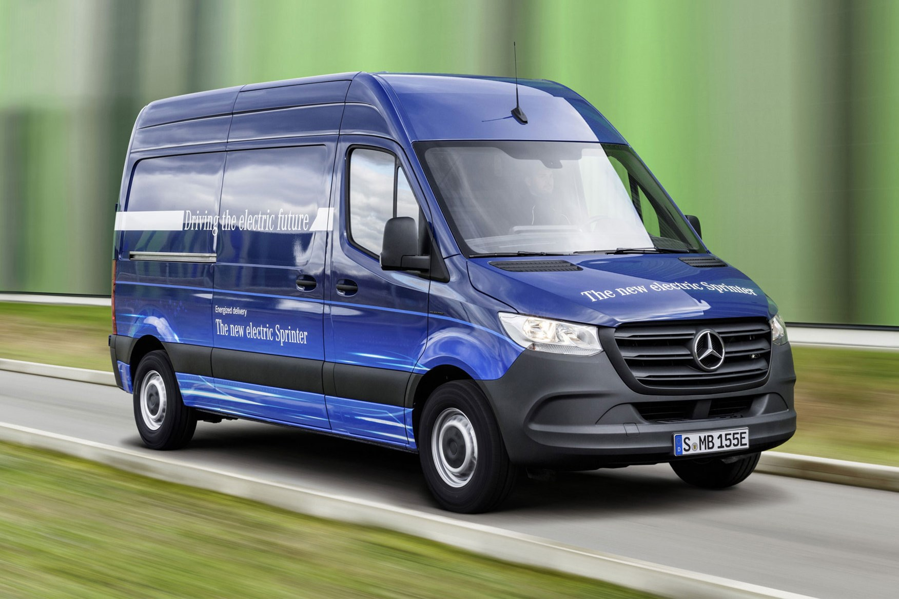 Mercedes Esprinter Review Driving