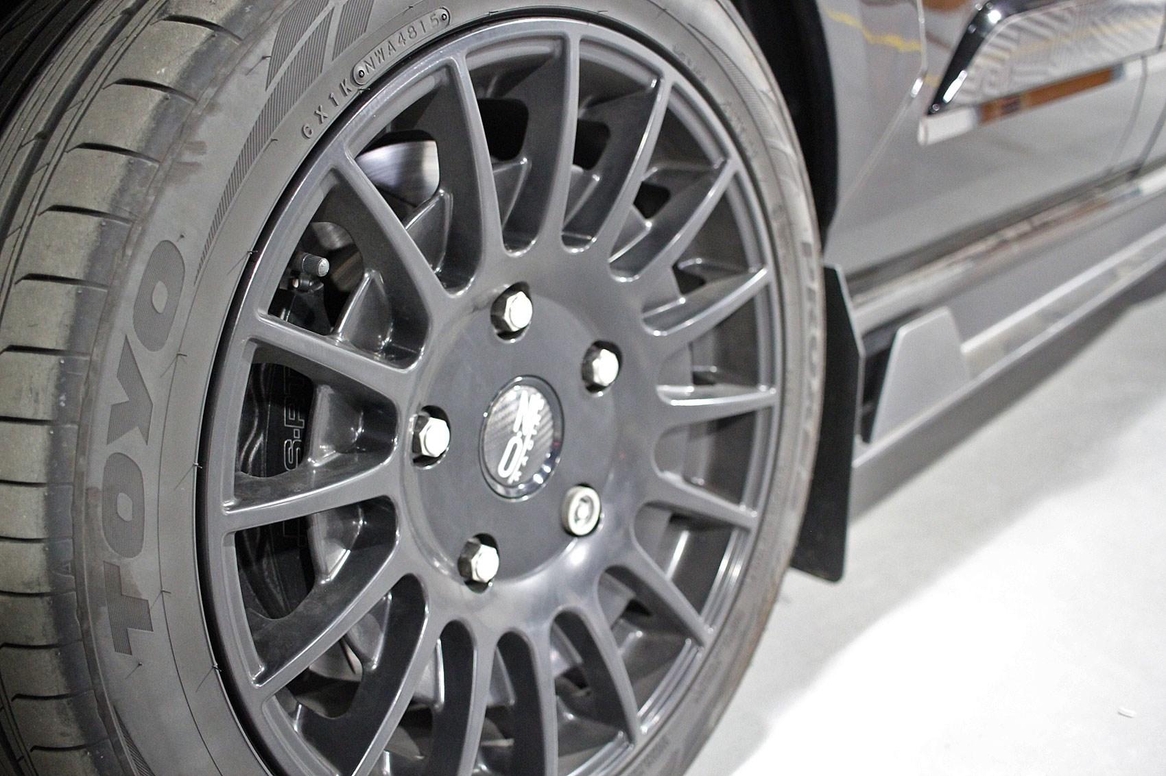 5b89943c76a5db ... Ken Block limited edition Ford Transit Custom review - MS-RT big brake  kit ...