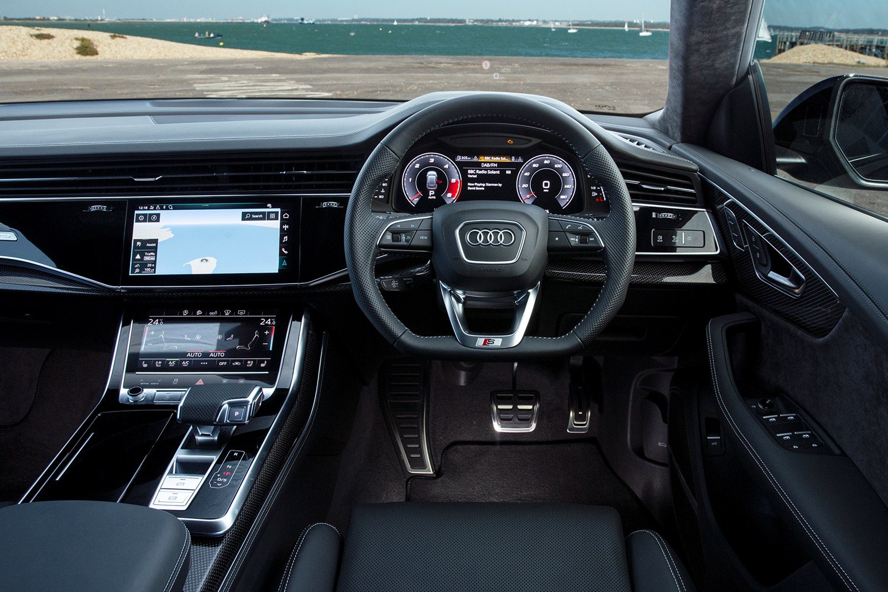 Audi Q8 2020 Mpg Running Costs Economy Co2 Parkers