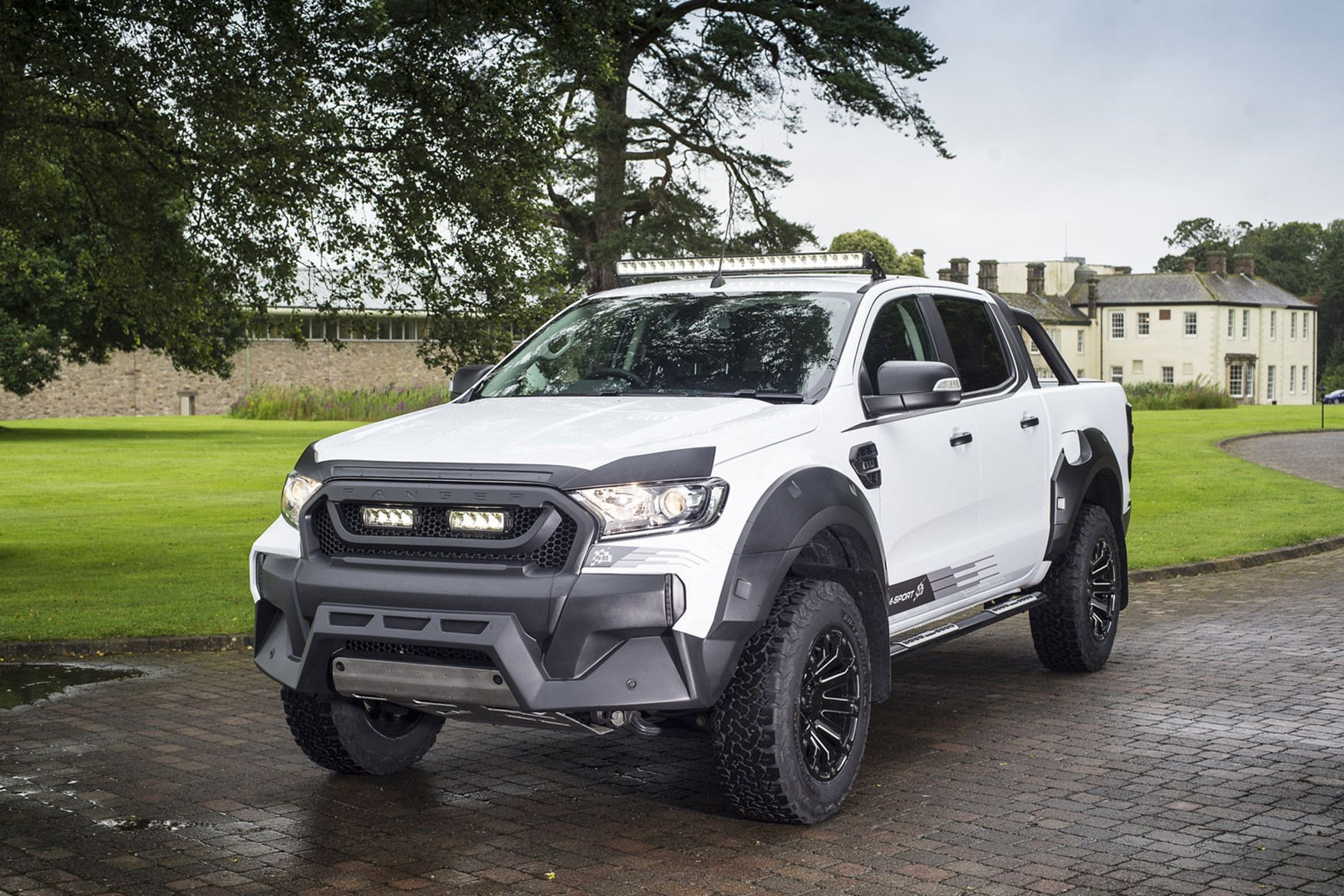 Ford Ranger M-Sport Review On Parkers Vans And Pickups -4096