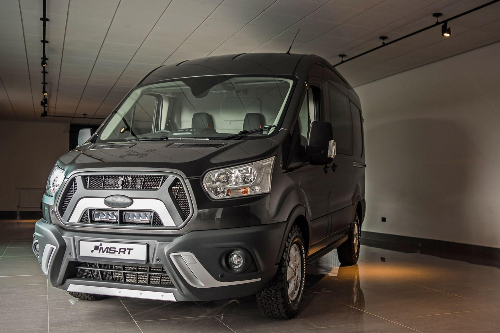 ab49487044 Ford Transit Guy Martin Edition review on Parkers Vans and Pickups ...