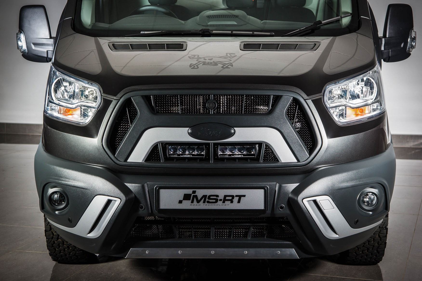 642a100bb8 ... Ford Transit Guy Martin Edition review - front end and bumper detail ...