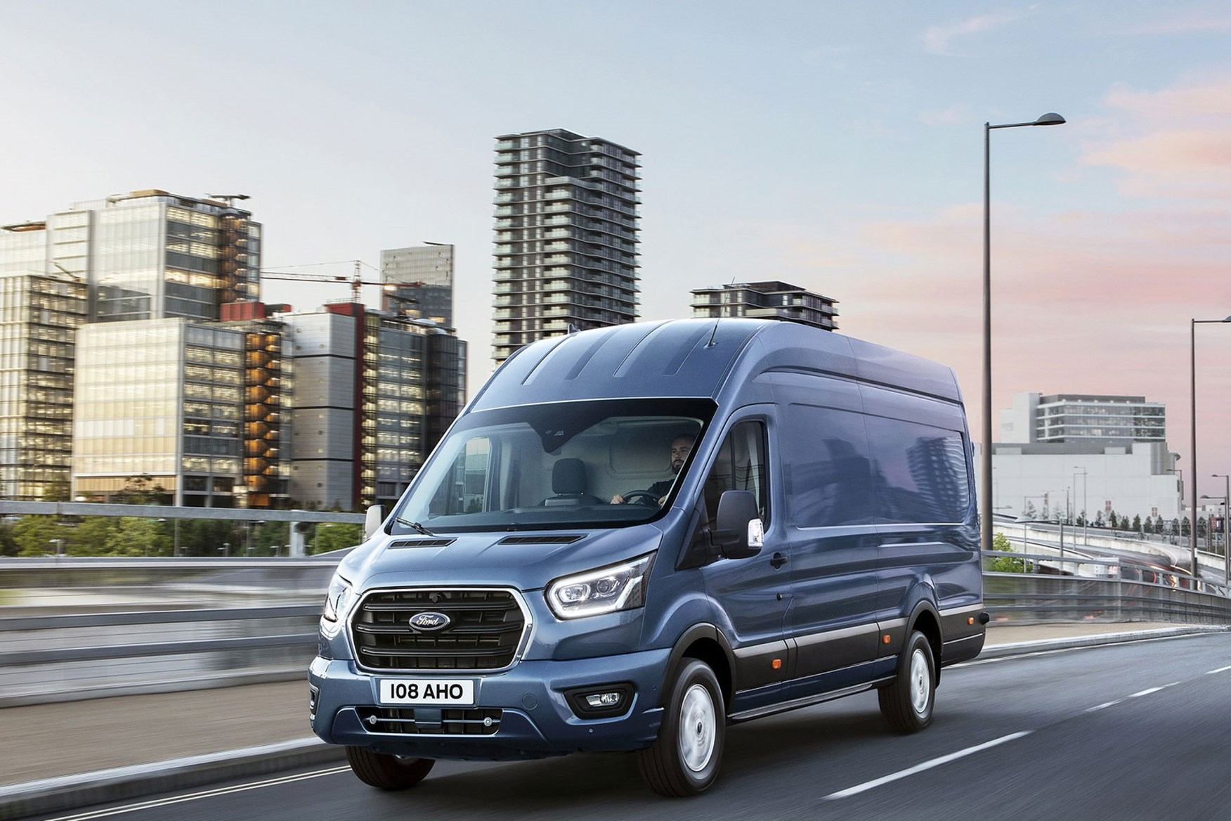 new 2019 ford transit facelift latest details from the. Black Bedroom Furniture Sets. Home Design Ideas