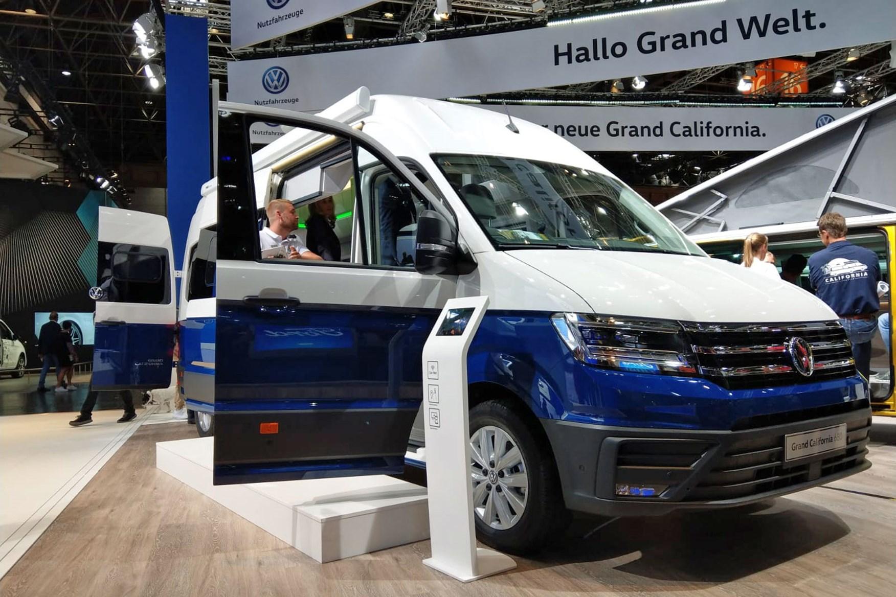 Vw Grand California 680 At The Dusseldorf Caravan Salon 2018