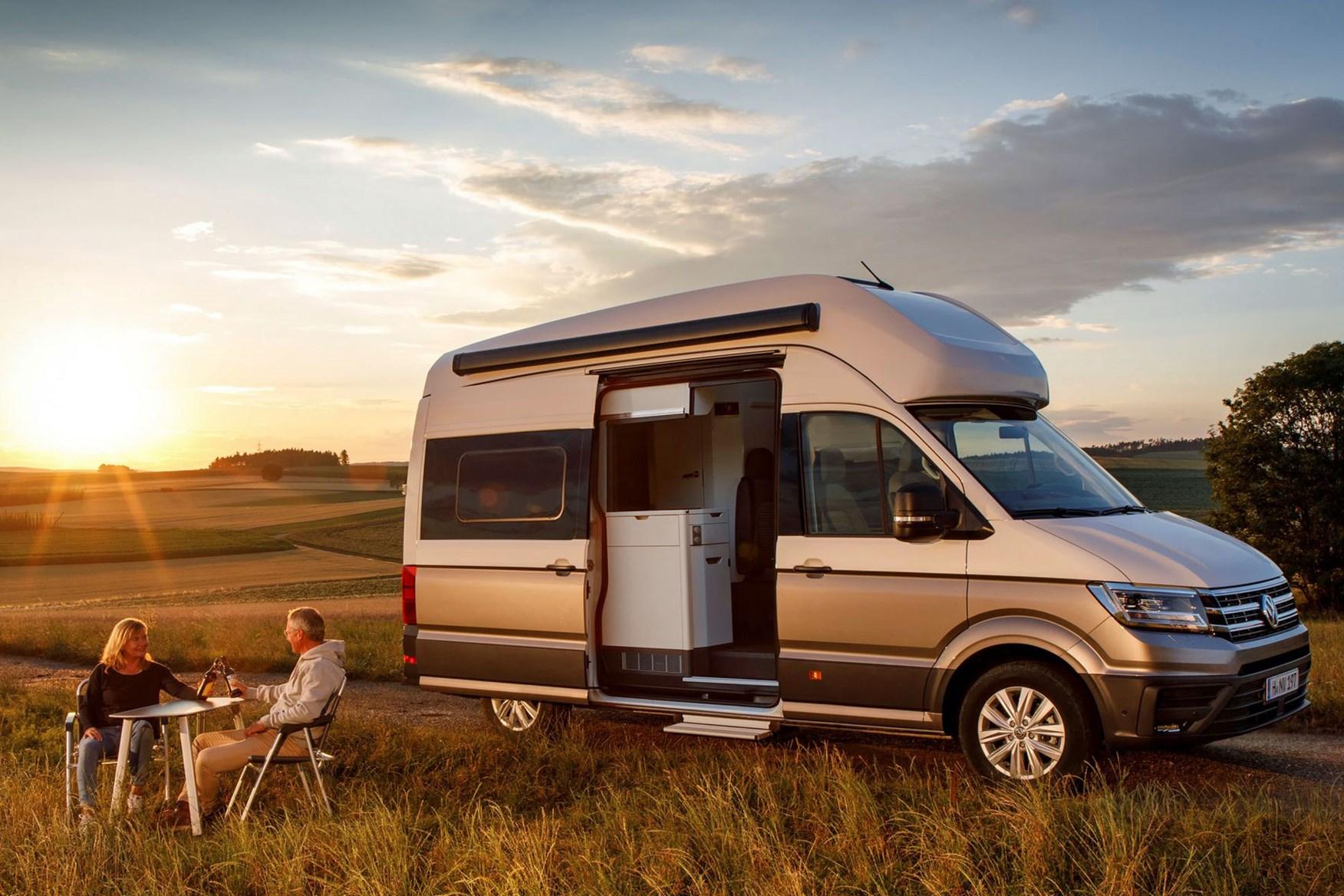 Volkswagen Grand California Campervan Based On Vw Crafter
