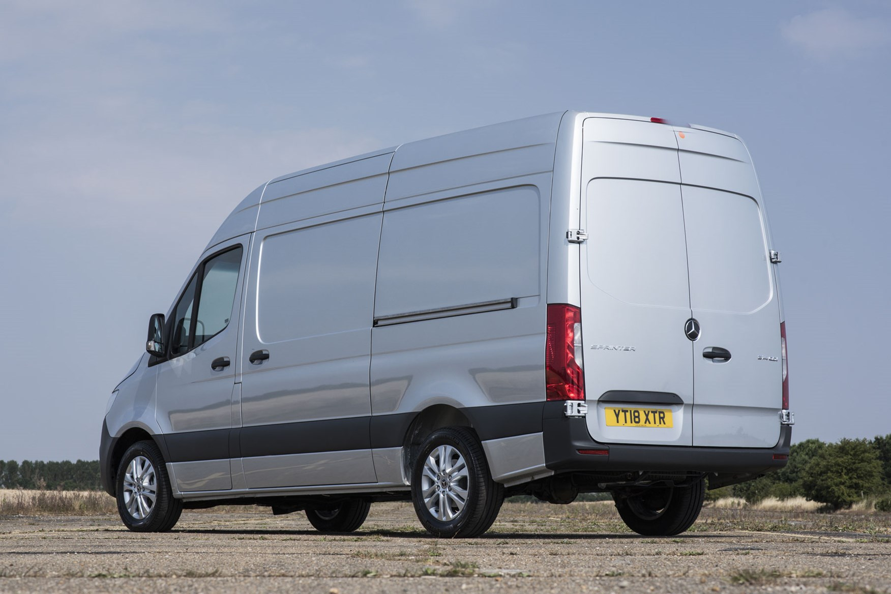 Mercedes Sprinter vs VW Crafter twin-test review - which premium