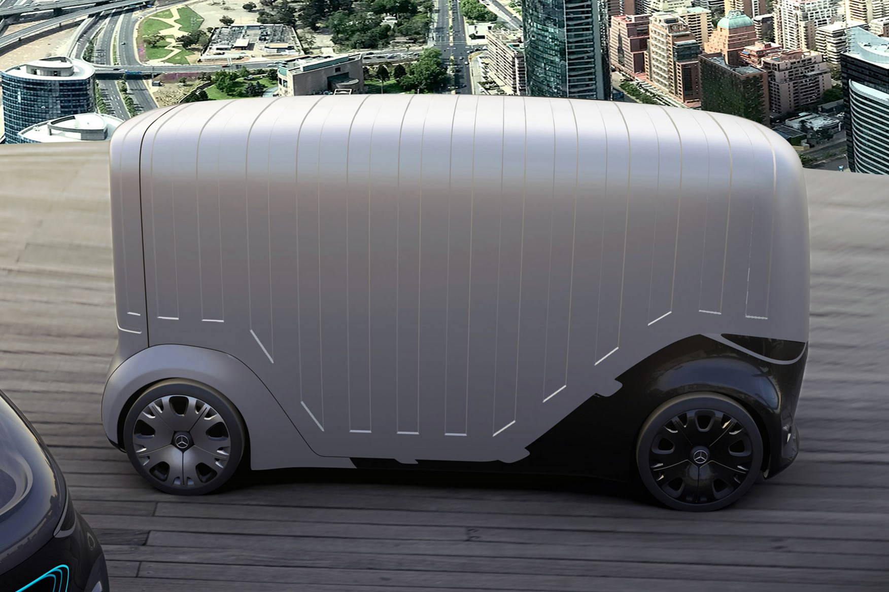 Mercedes Vision Urbanetic Concept A Self Driving