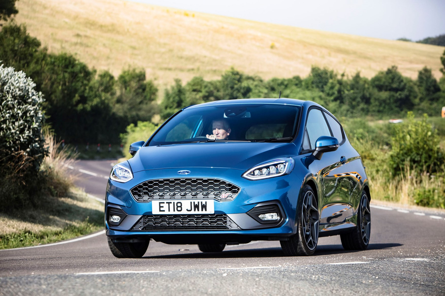 ford fiesta st review 2019 parkers. Black Bedroom Furniture Sets. Home Design Ideas