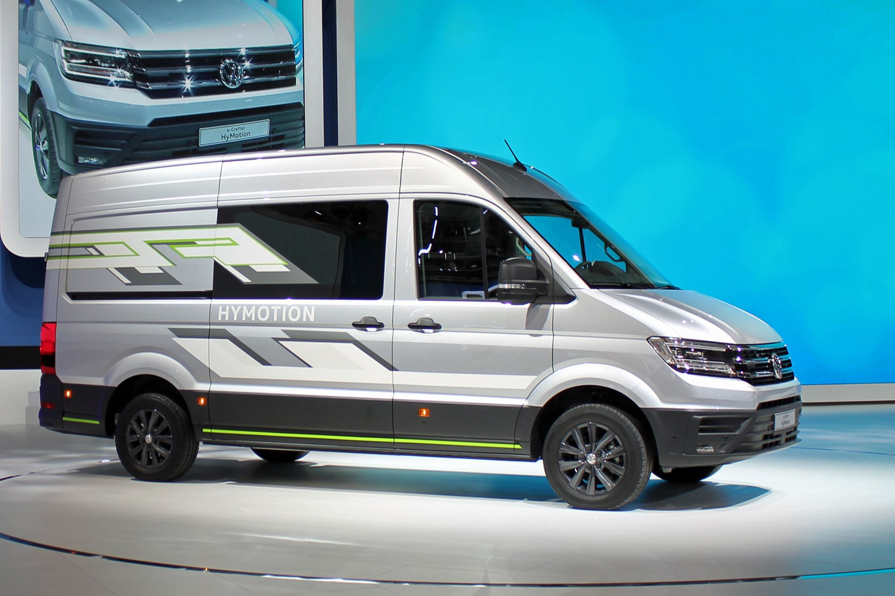 VW Crafter HyMotion concept previews future hydrogen fuel cell