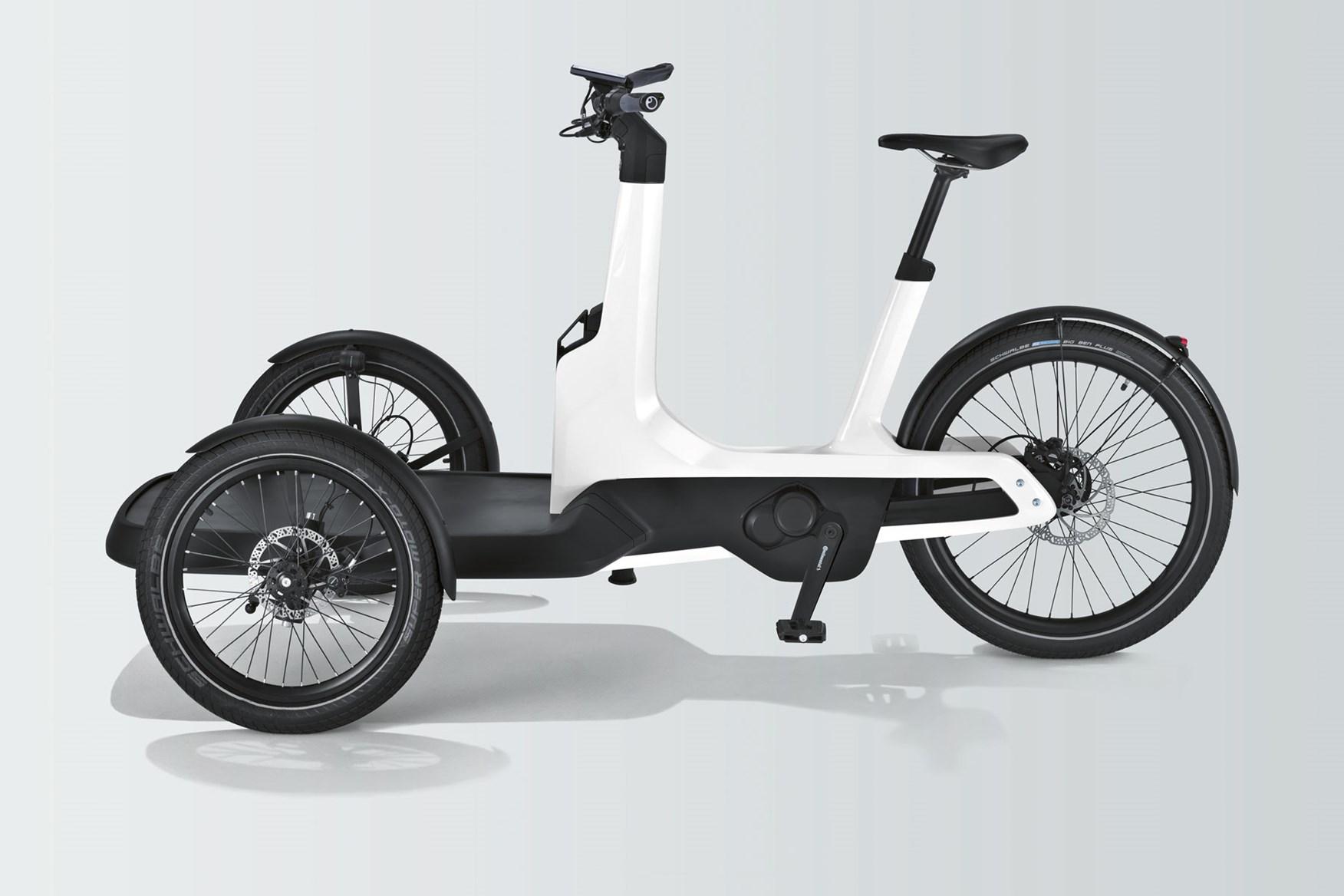 vw cargo e bike the ultimate eco friendly last mile delivery solution parkers. Black Bedroom Furniture Sets. Home Design Ideas