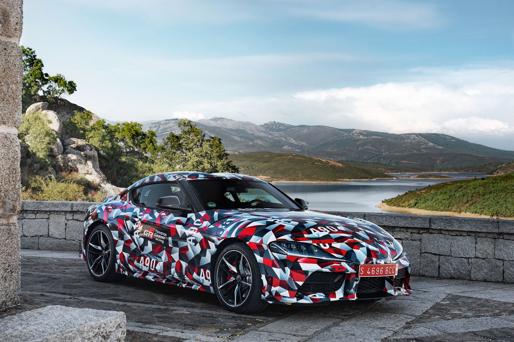 d997d94e960e Toyota Gr Supra 2019 Early Drive Review Parkers