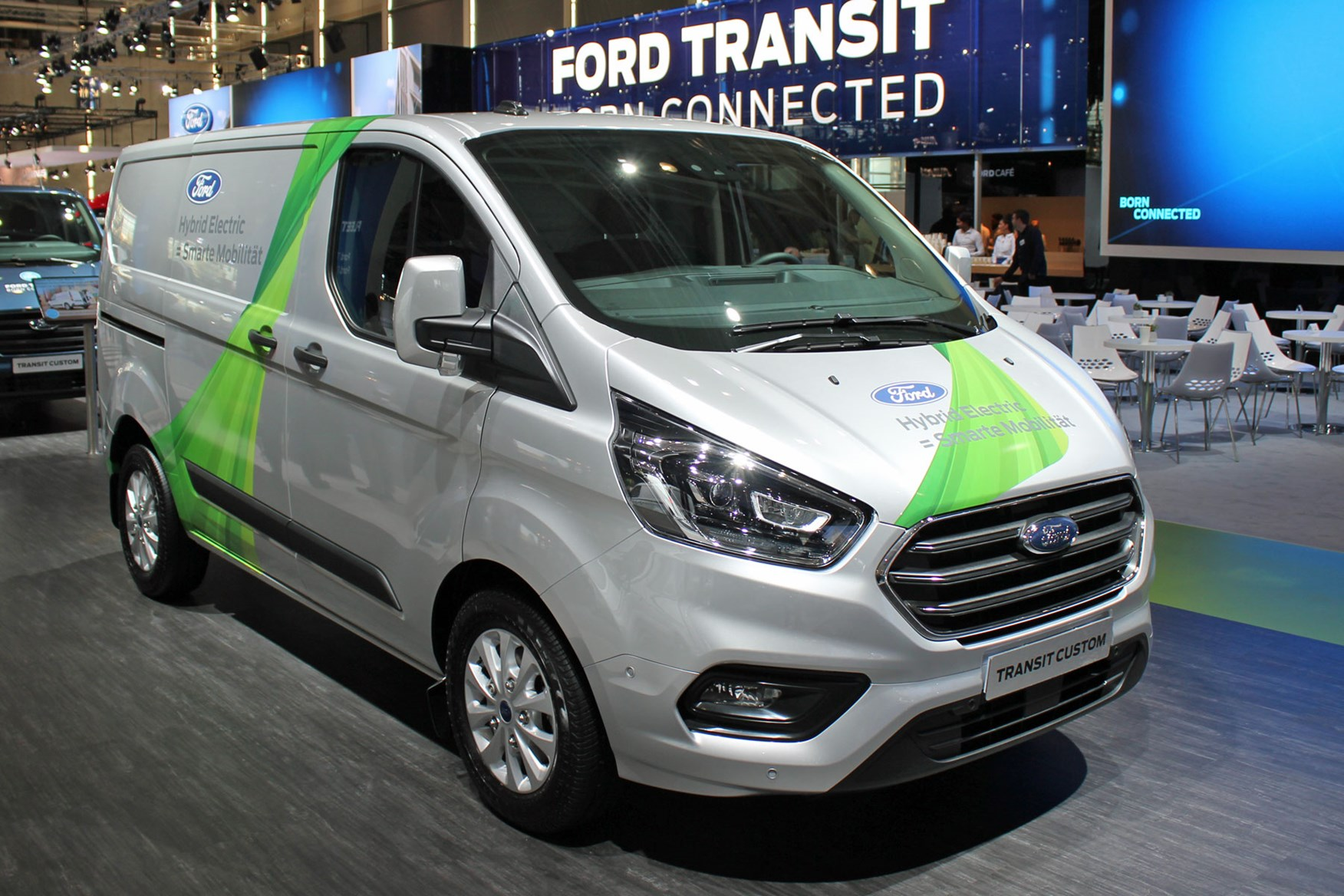 Production Version Of The Ford Transit Custom Phev