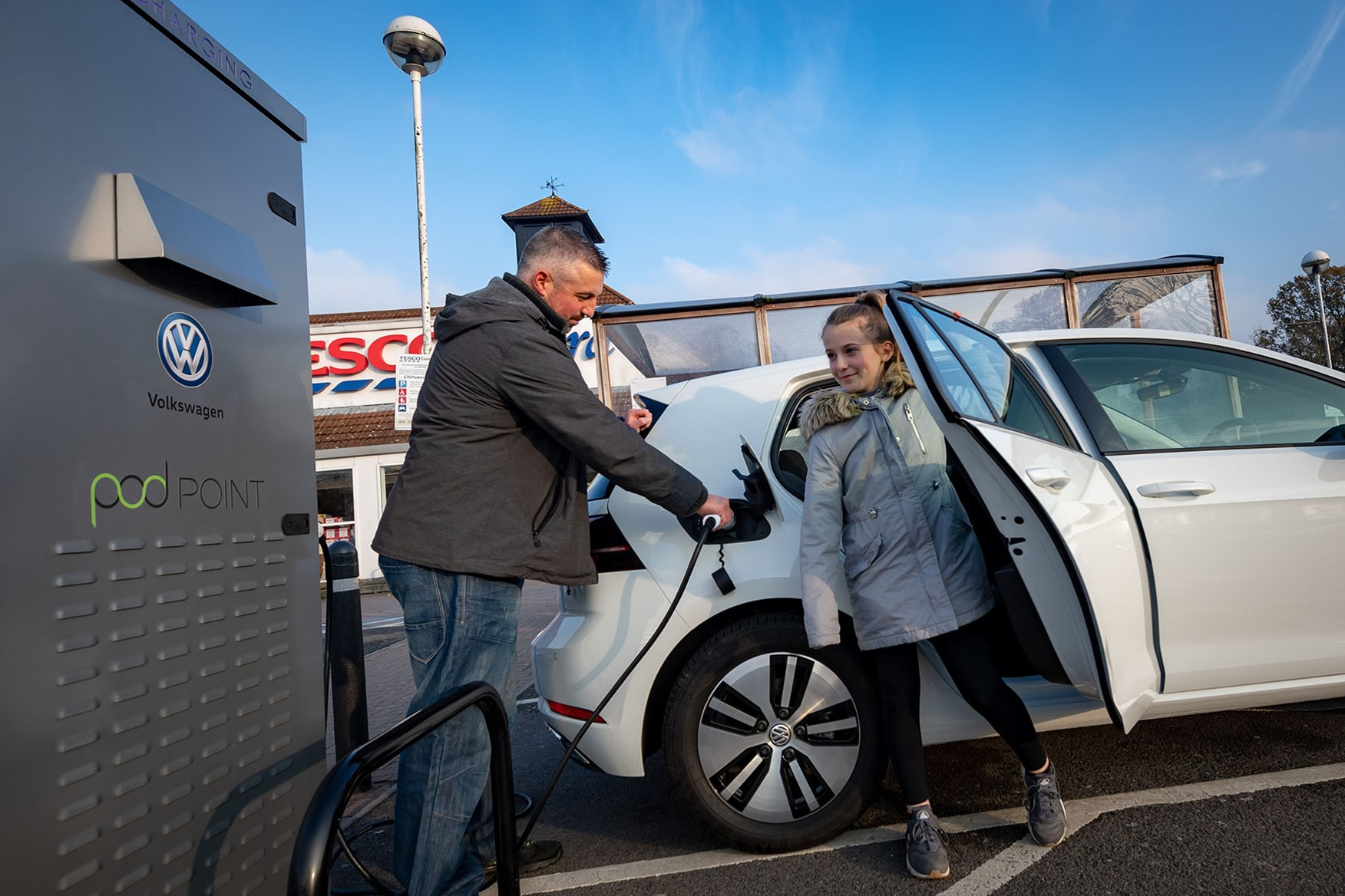 Tesco Transforms Charging Infrastructure Parkers
