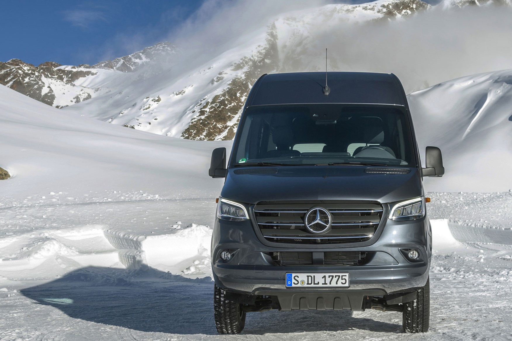 New Mercedes Sprinter AWD 4x4 pricing and specification | Parkers