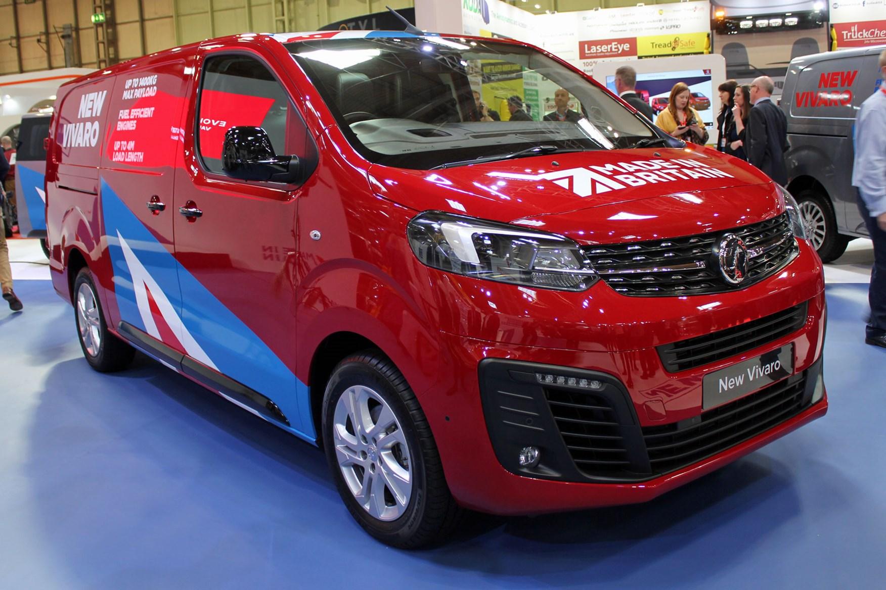 All New Vauxhall Vivaro Makes Public Debut At Cv Show 2019 Parkers