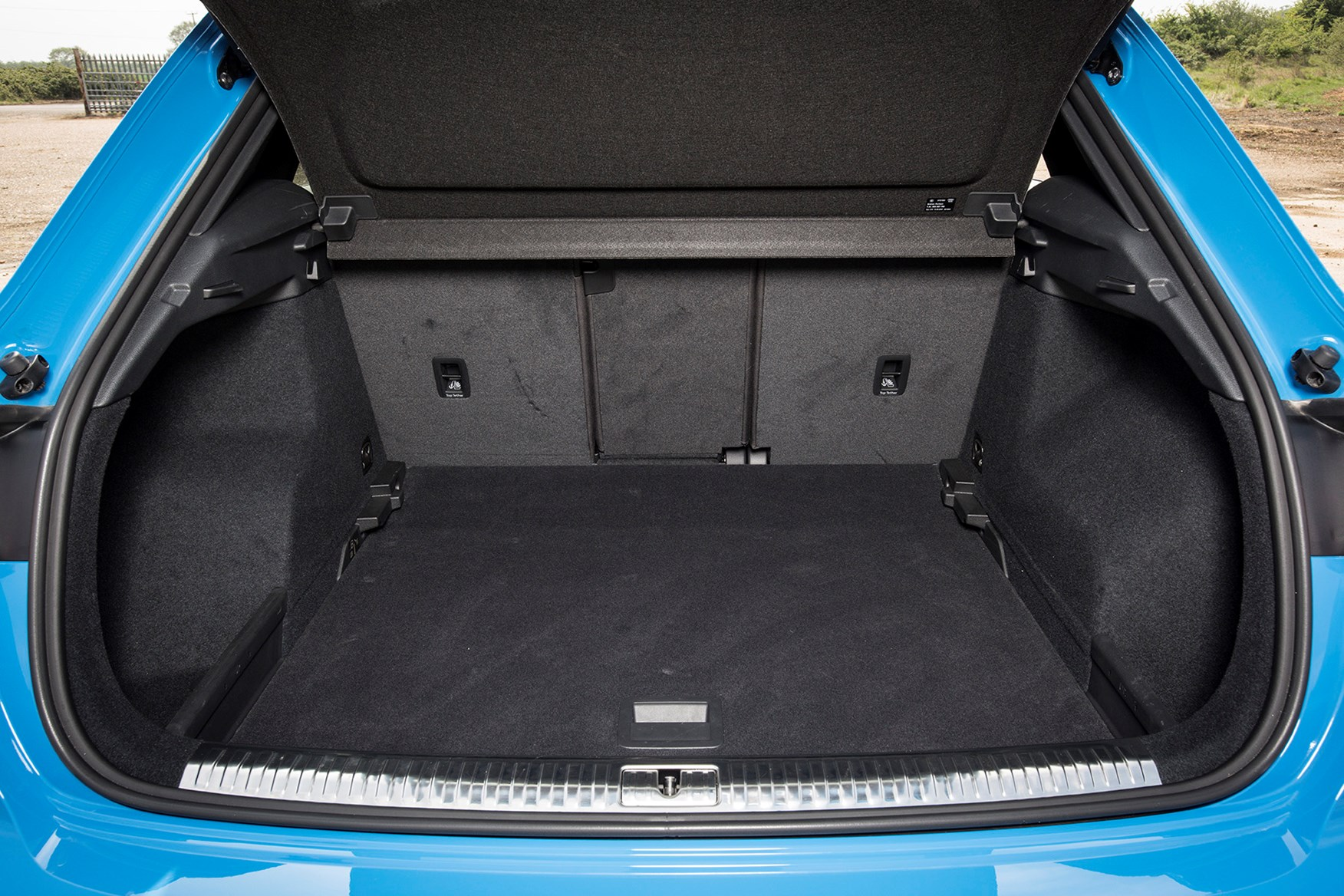 Audi Q3 2021 Practicality Boot Space Dimensions Parkers