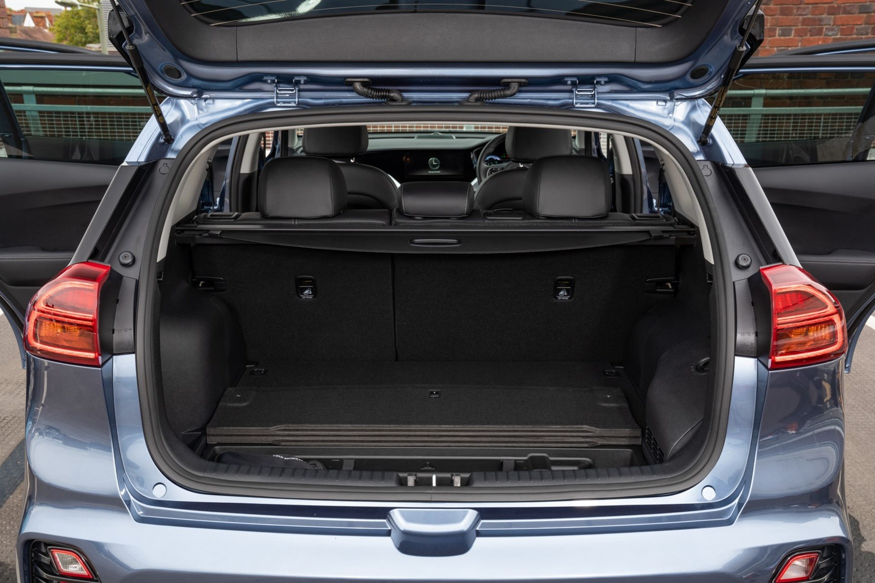 Kia E Niro 2021 Practicality Boot Space Dimensions Parkers