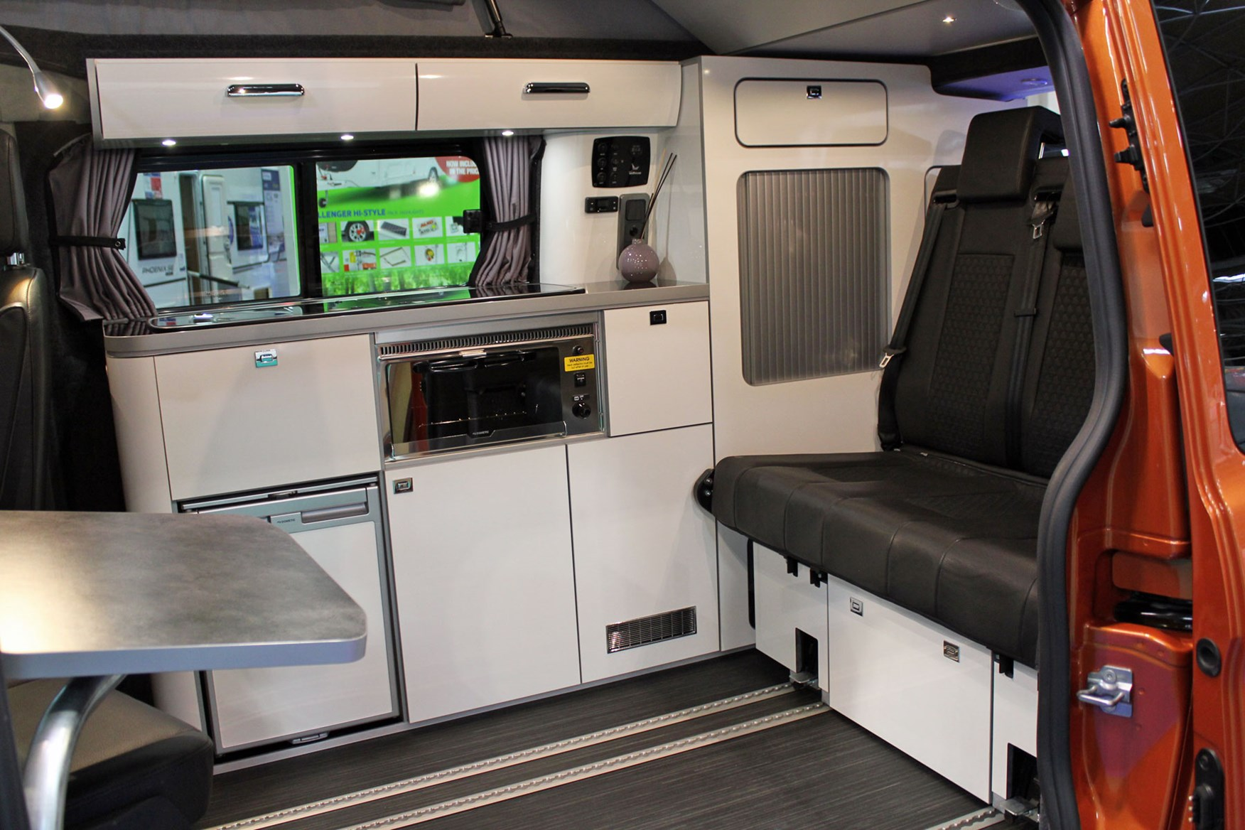 Campervans at the 2019 Caravan, Camping and Motorhome Show ...