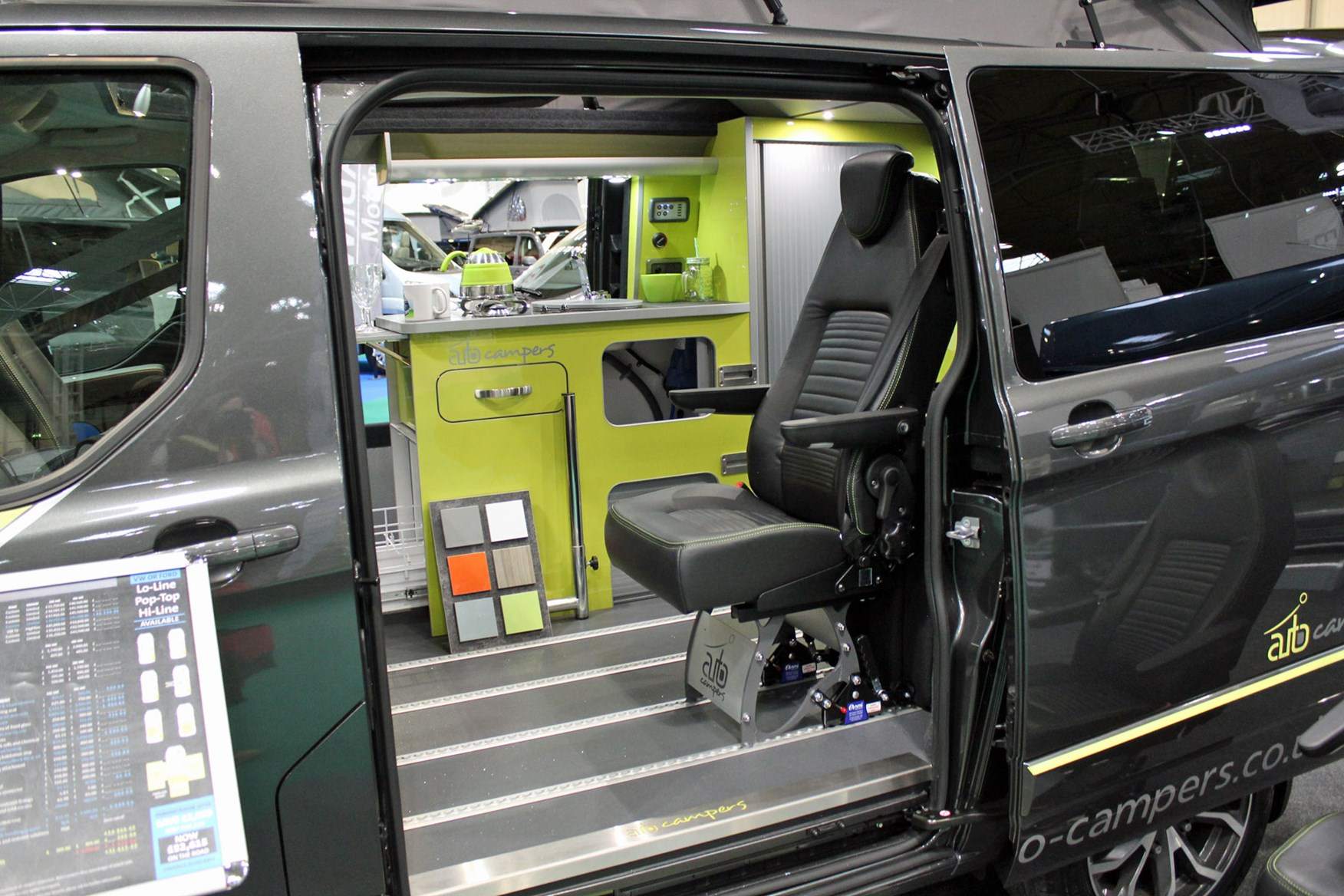 Campervans at the 2019 Caravan, Camping and Motorhome Show