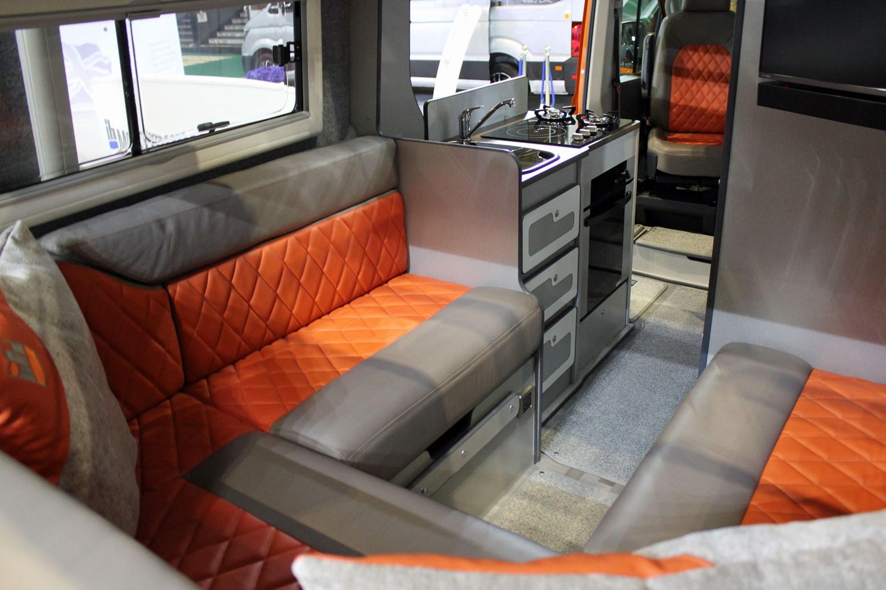 campervans at the 2019 caravan camping and motorhome show. Black Bedroom Furniture Sets. Home Design Ideas