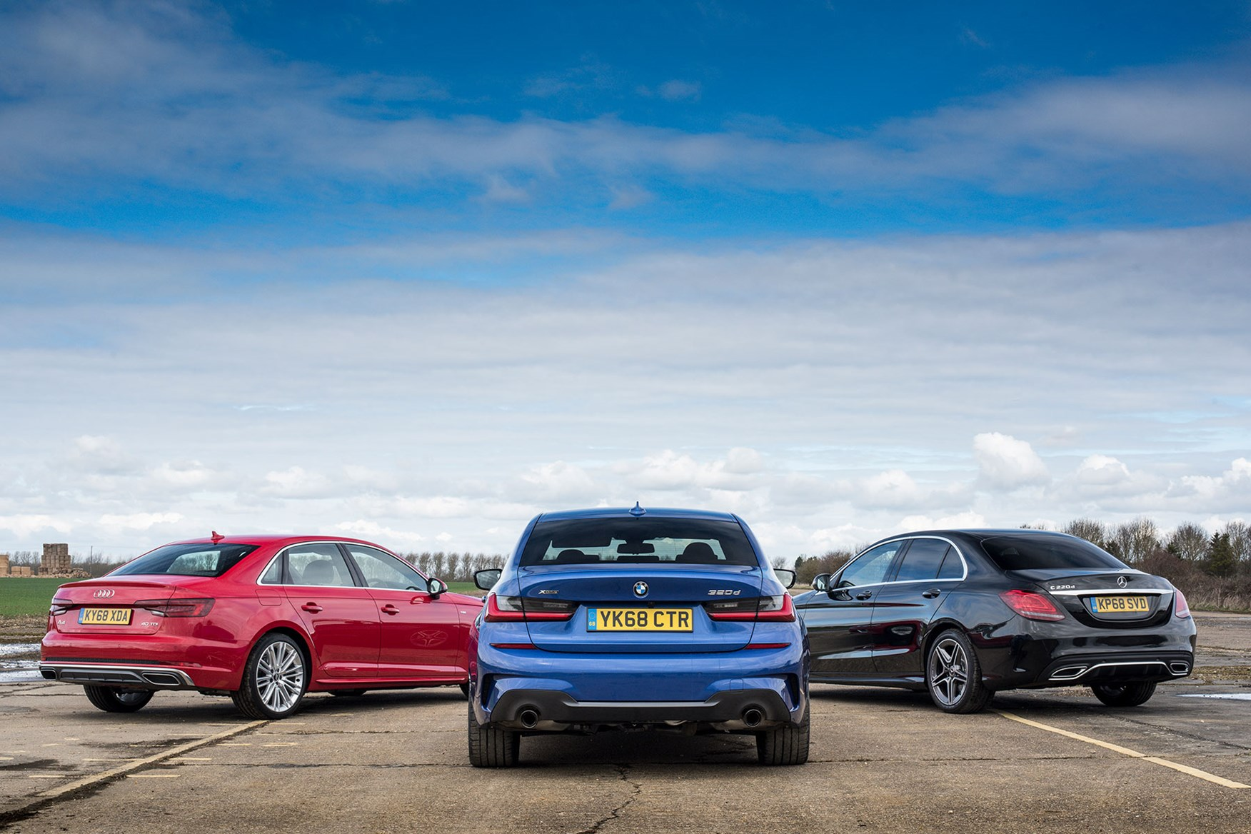 Video Bmw 3 Series Vs Audi A4 And Mercedes Benz C Class Parkers