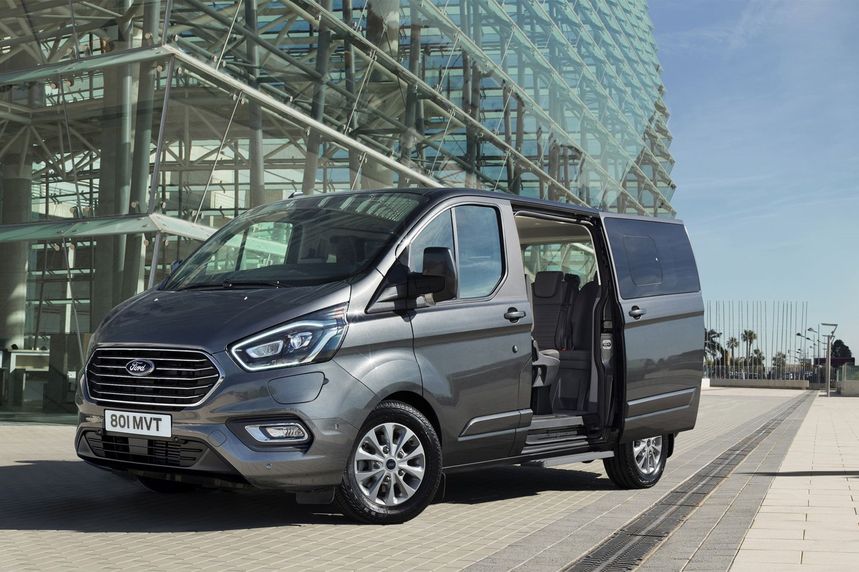 Ford Transit Electric Van To Use Mustang Mach E Battery Tech Parkers