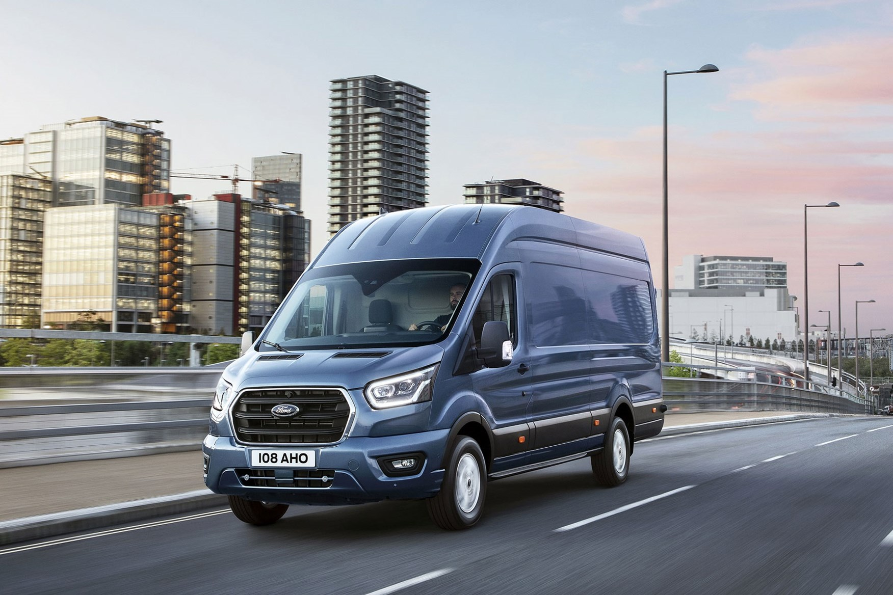 ford transit electric van to use mustang mache battery