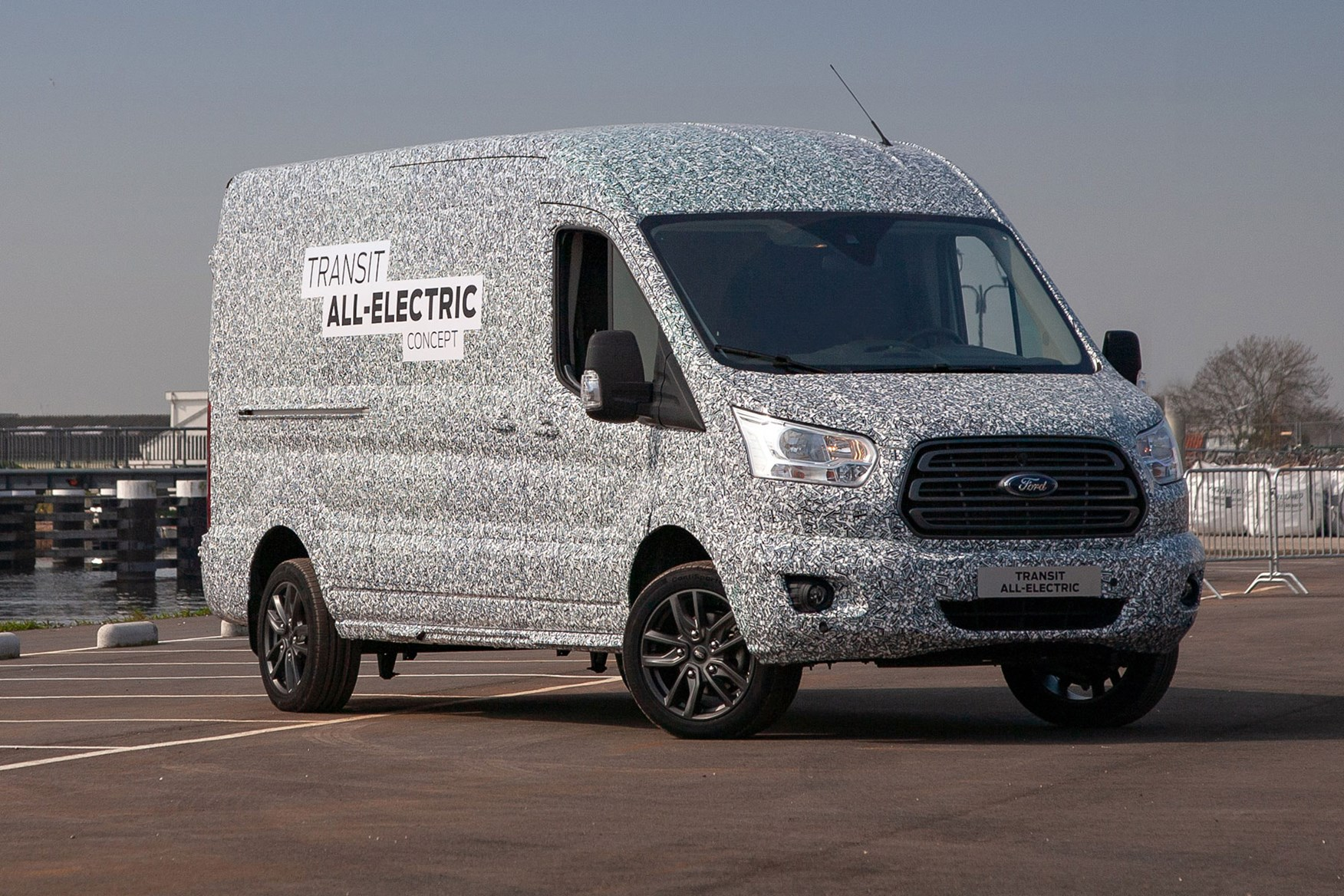 Ford Transit Electric Van To Use Mustang Mach