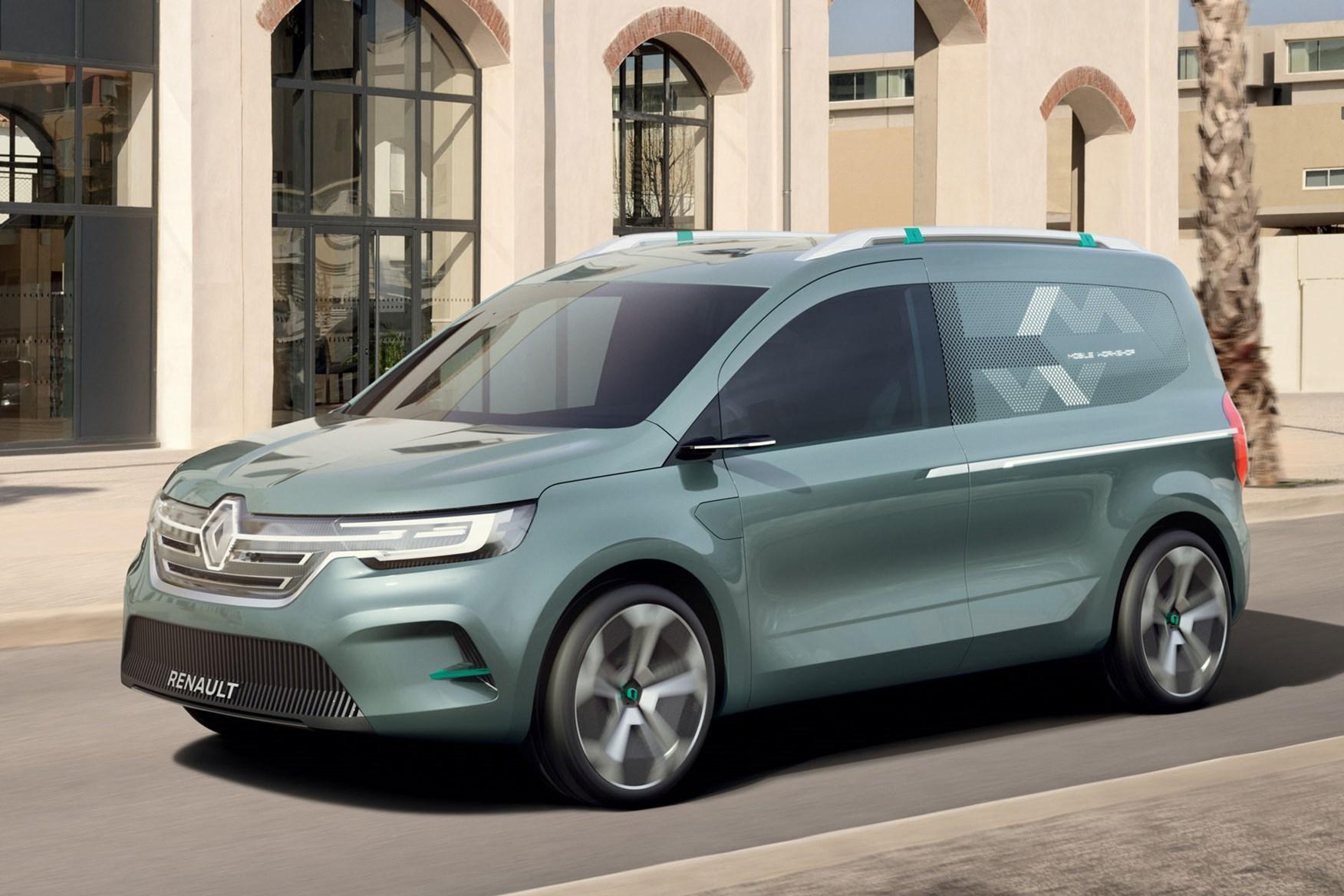 Renault Kangoo Ze Concept Previews Next Generation Small