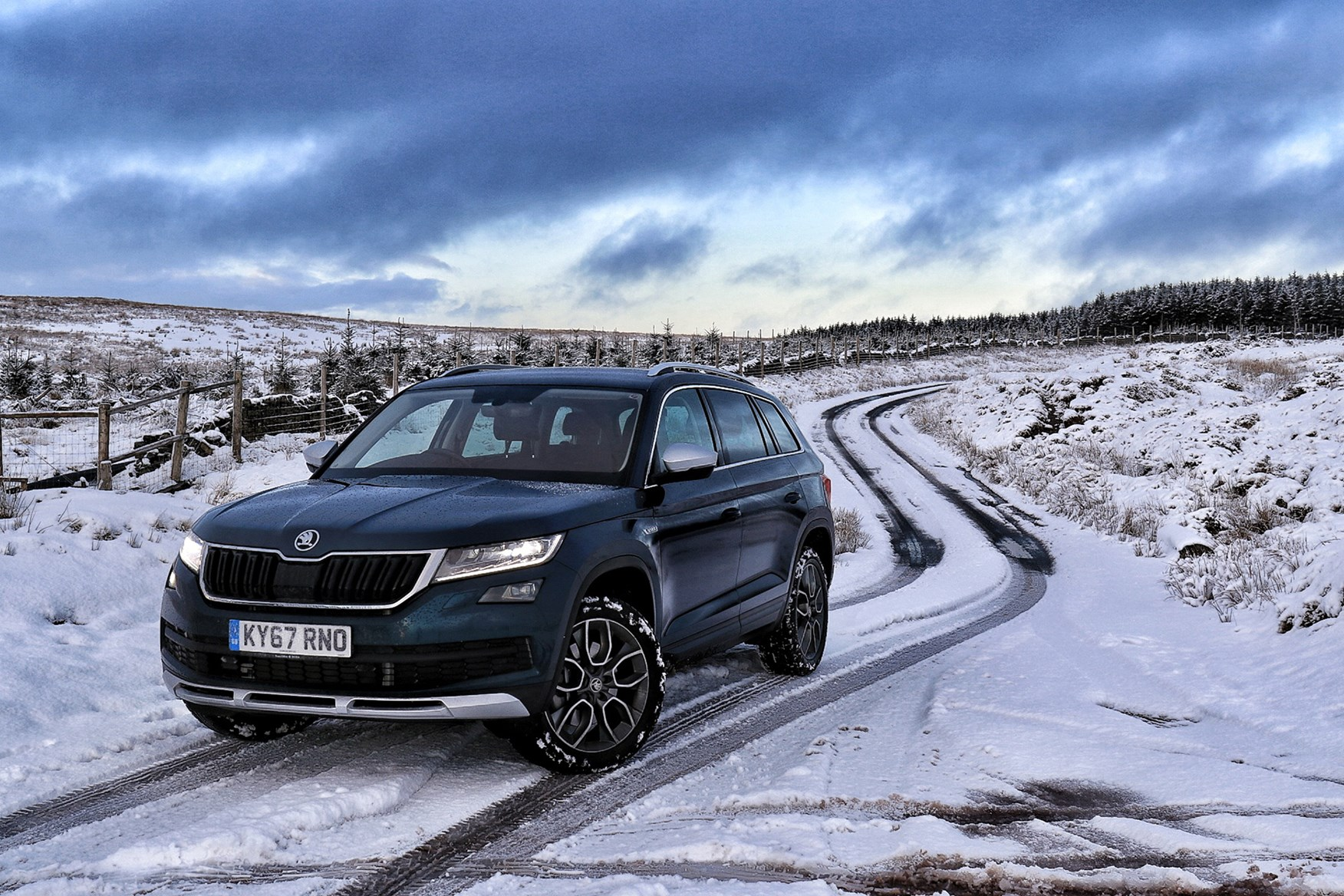 Best cars for snow and winter weather   Parkers