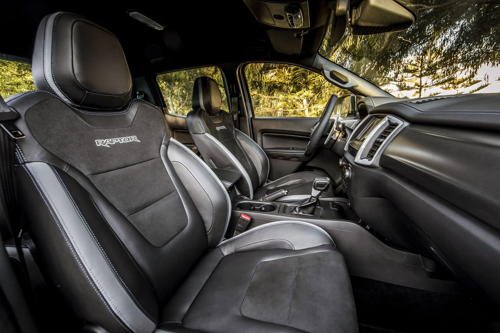 Ford Raptor Interior >> Ford Ranger Raptor Review High Performance Off Road Pickup