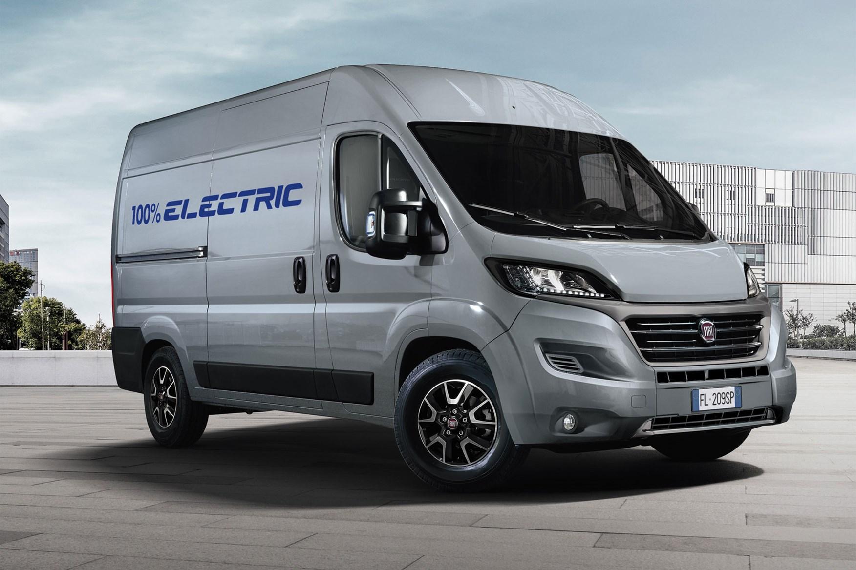 Fiat Ducato Electric van promises 223-mile driving range ...