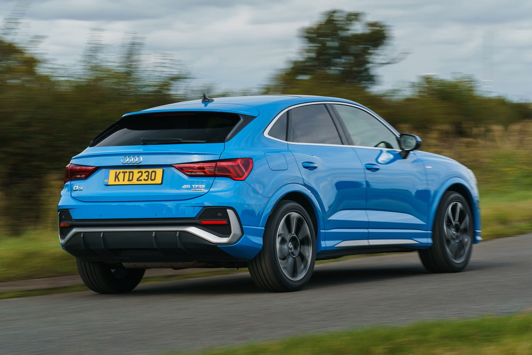 Audi Q3 Sportback 2021 Practicality Boot Space Parkers