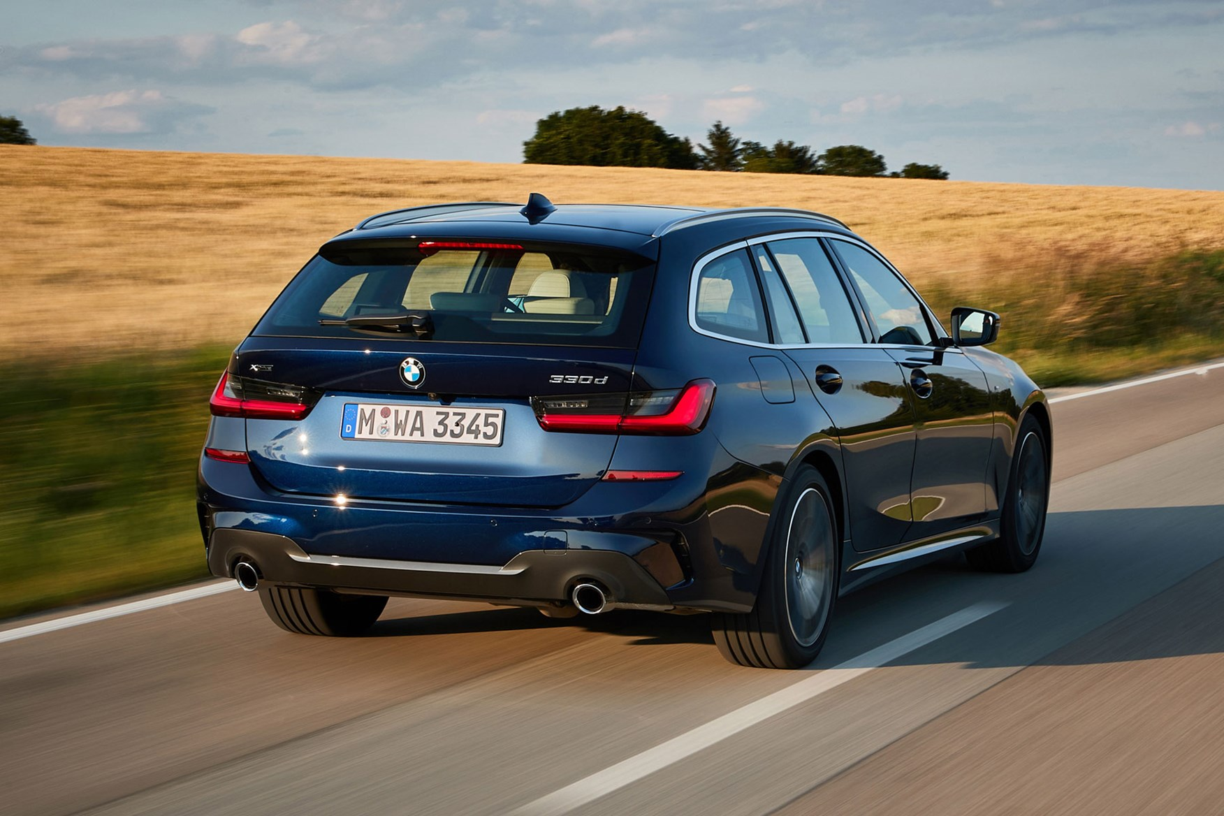 Bmw Exterior: BMW 3-Series Touring Review (2019)