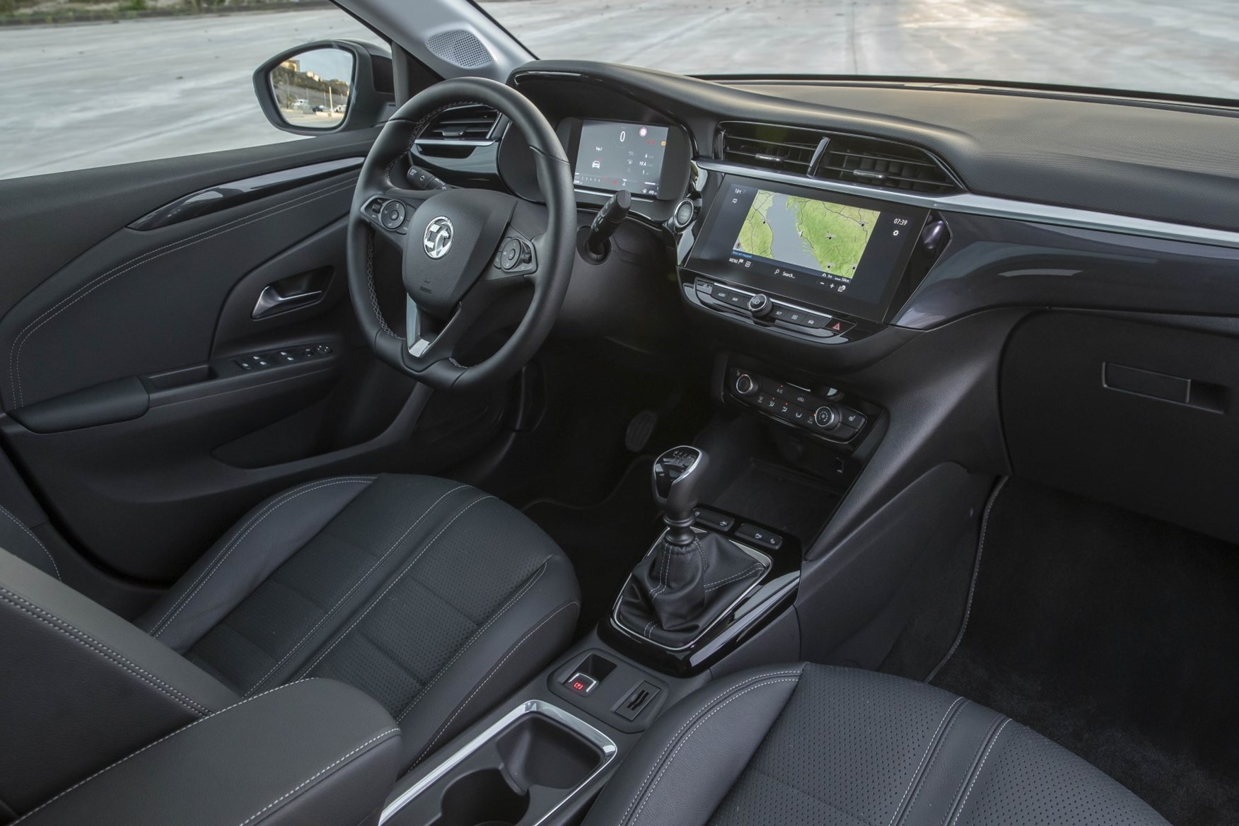 Vauxhall Corsa 2020 Interior Layout Dashboard Infotainment Parkers
