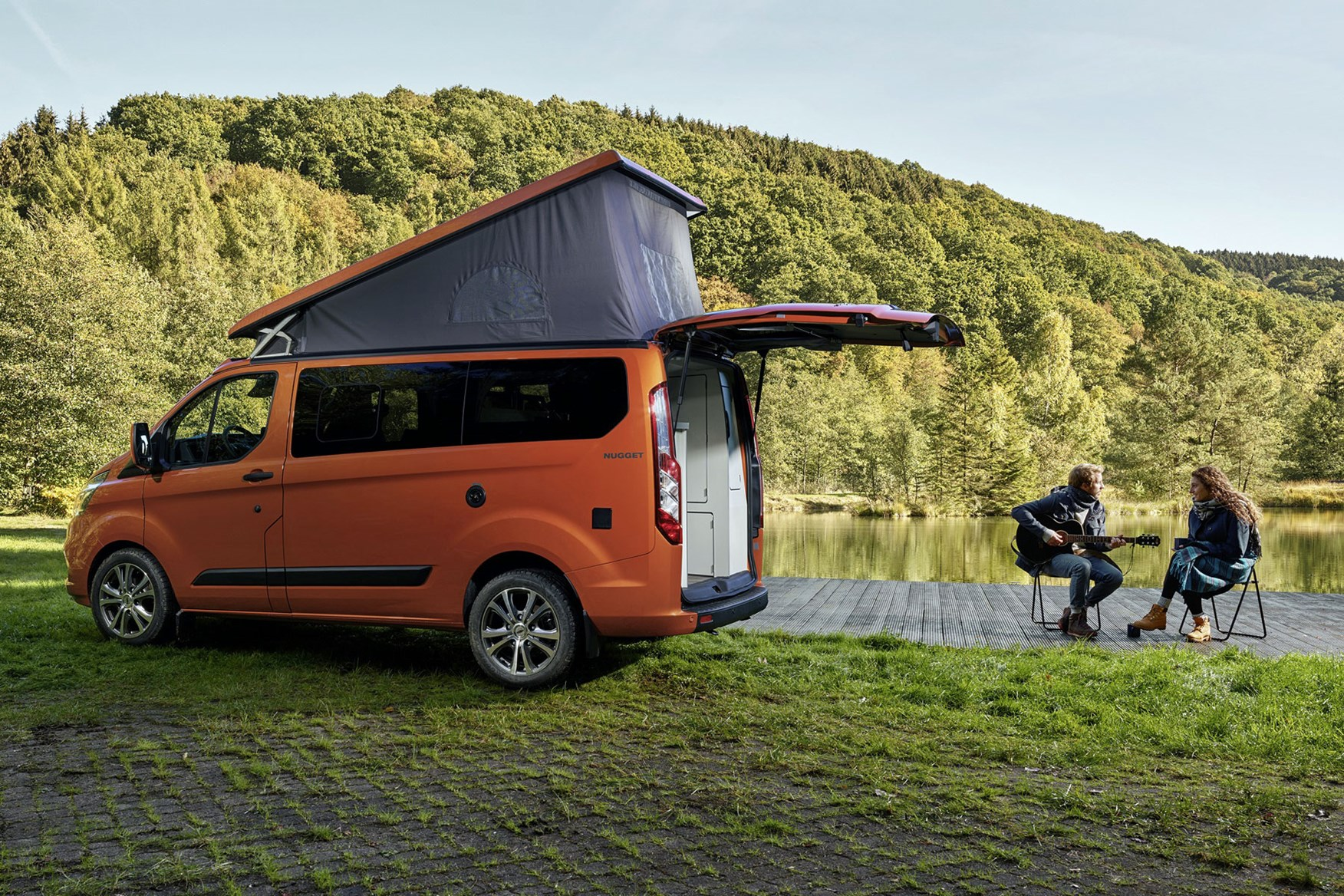 Ford Transit Custom Nugget Campervan Uk Pricing Plus New Lwb Model With On Board Toilet Parkers