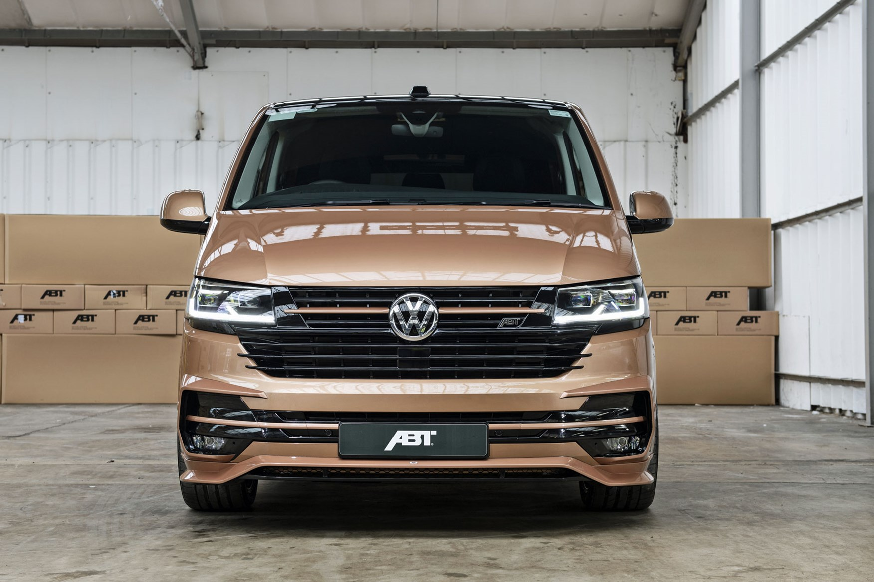 New Abt Vw Transporter T6 1 Tuning Upgrade With 226hp Parkers