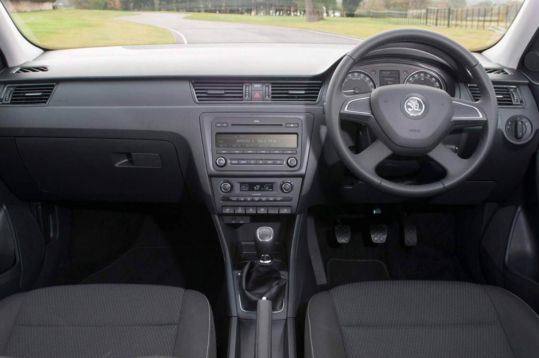 2012 Skoda Rapid Hatchback dashboard