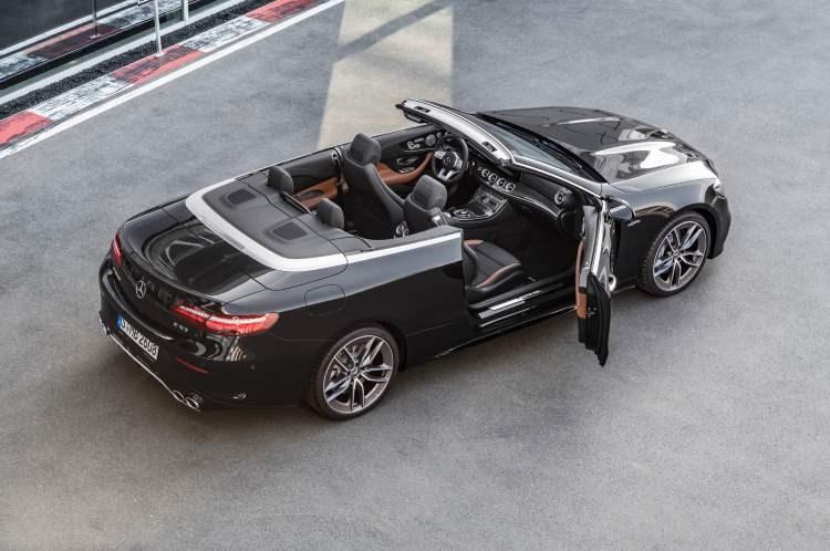 Mercedes-Benz E-Class Cabriolet rear three-quarter